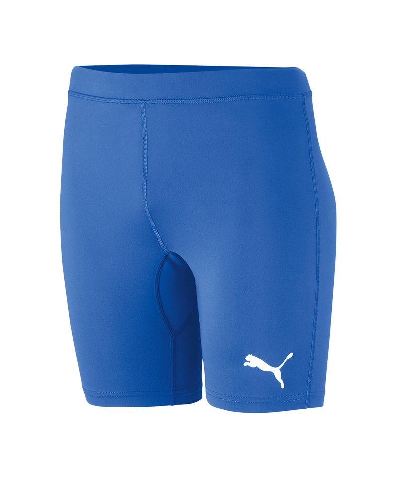 PUMA LIGA Baselayer Short Kids Blau F02 - blau