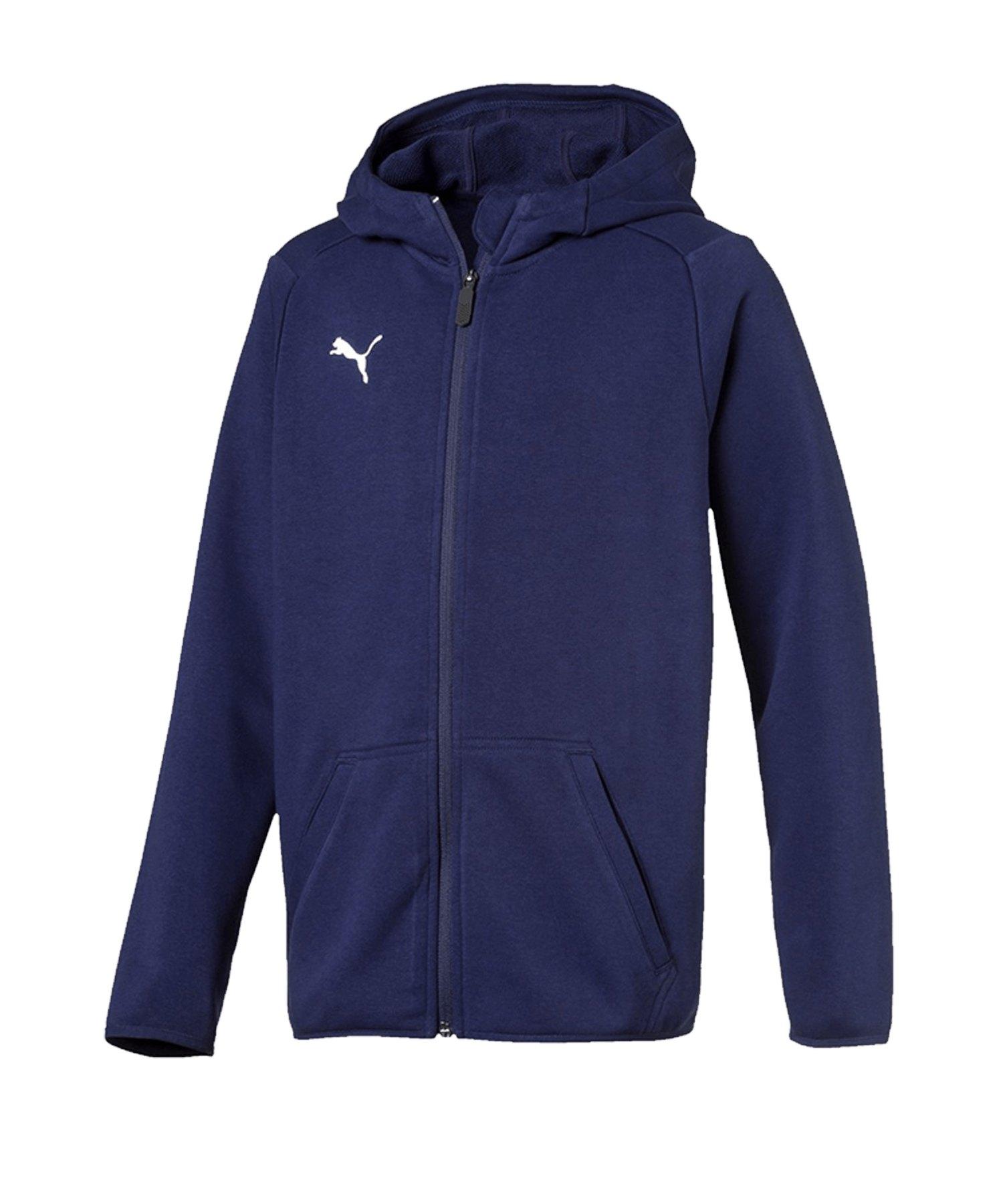 PUMA LIGA Casual Jacket Jacke Kids Blau F06 - blau