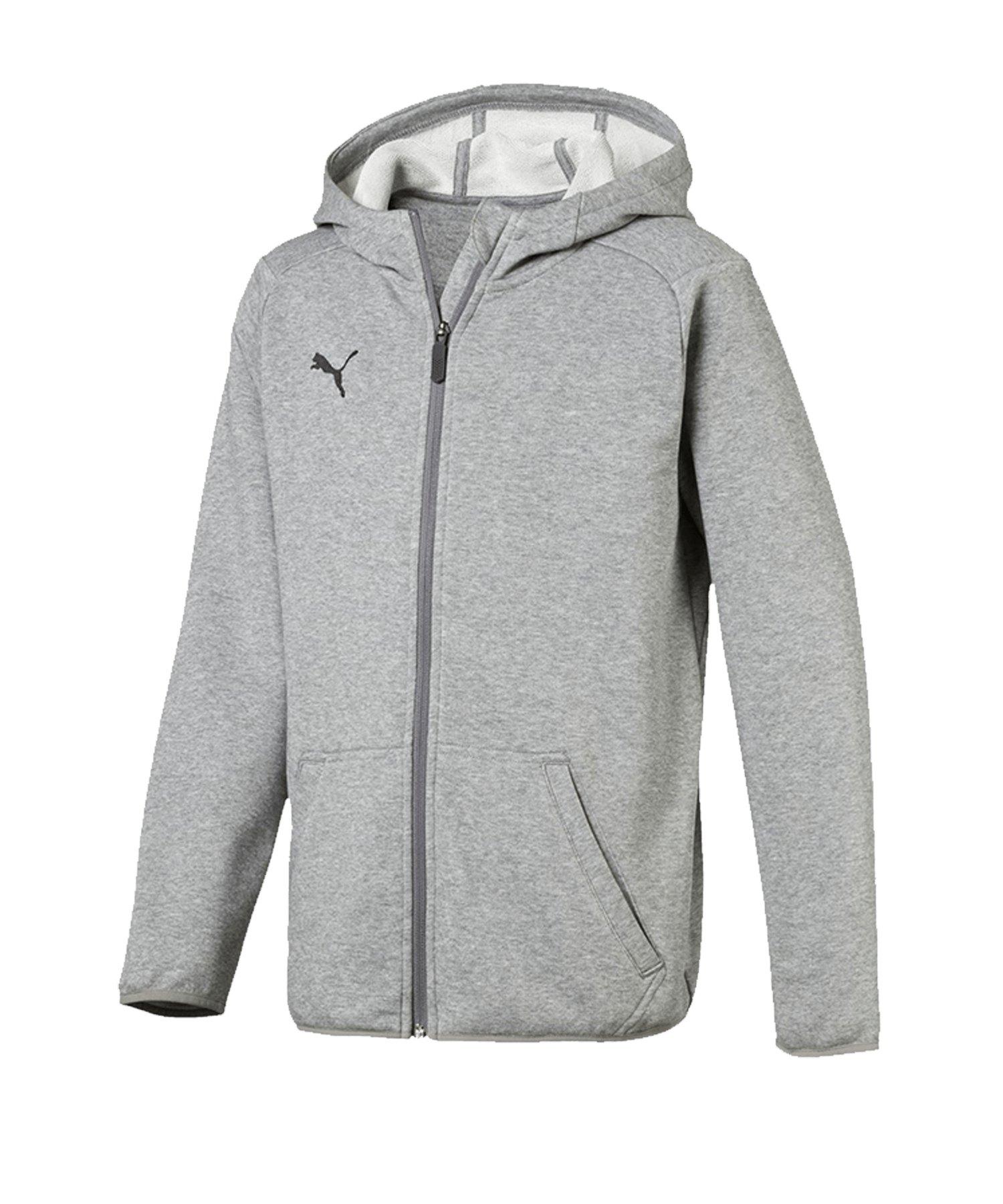 PUMA LIGA Casual Jacket Jacke Kids Grau F33 - grau