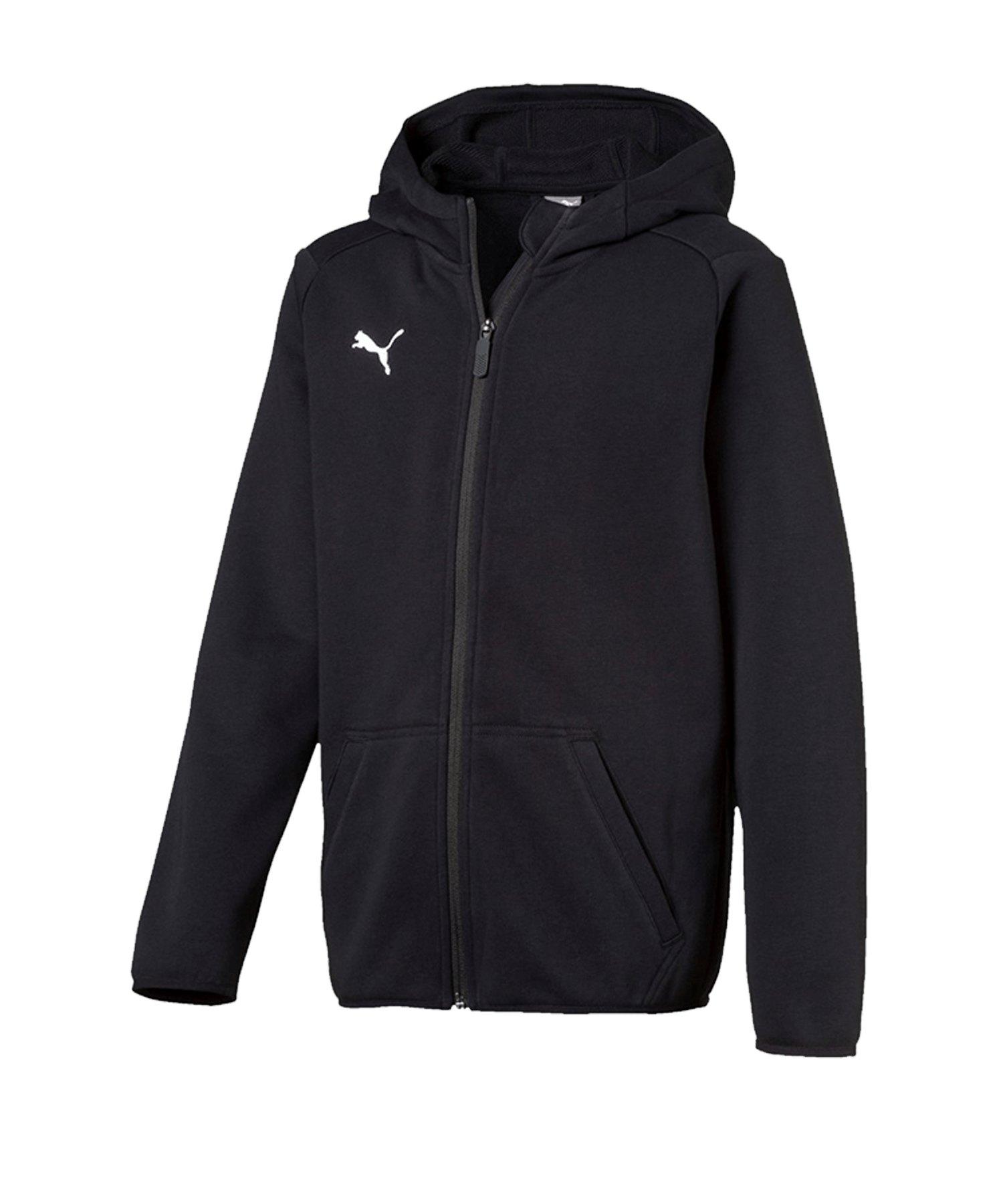 PUMA LIGA Casual Jacket Jacke Kids Schwarz F03 - schwarz