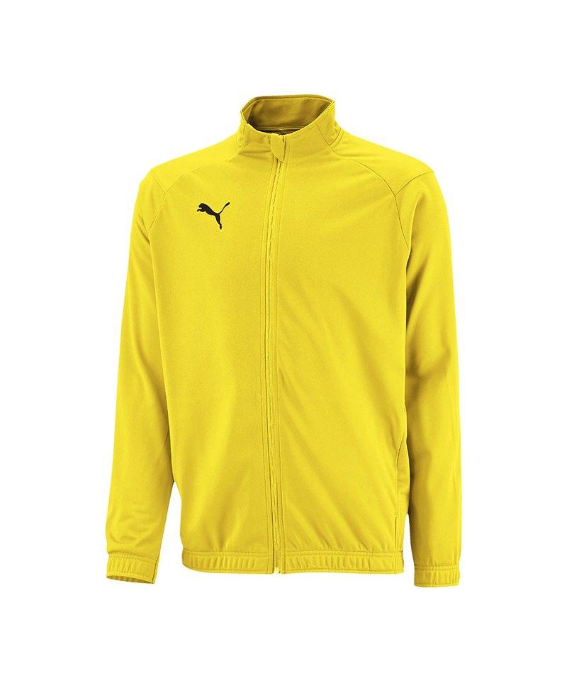 PUMA LIGA Sideline Polyesterjacke Kids Gelb F07 - gelb