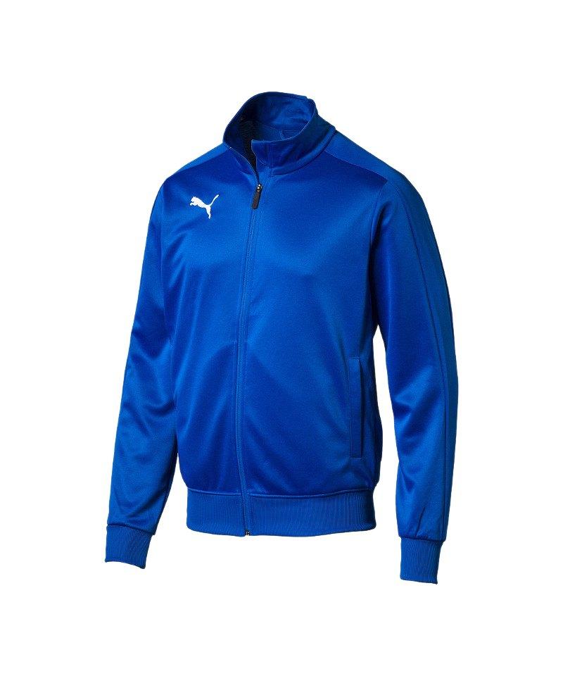PUMA LIGA Casuals Track Top Trainingsjacke F02 - blau