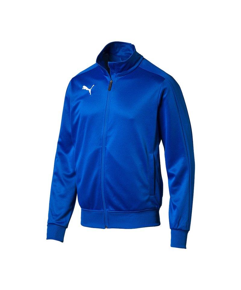 PUMA LIGA Casuals Top Trainingsjacke Kids Blau F02 - blau