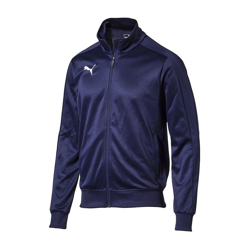 PUMA LIGA Casuals Top Trainingsjacke Kids F06 - blau