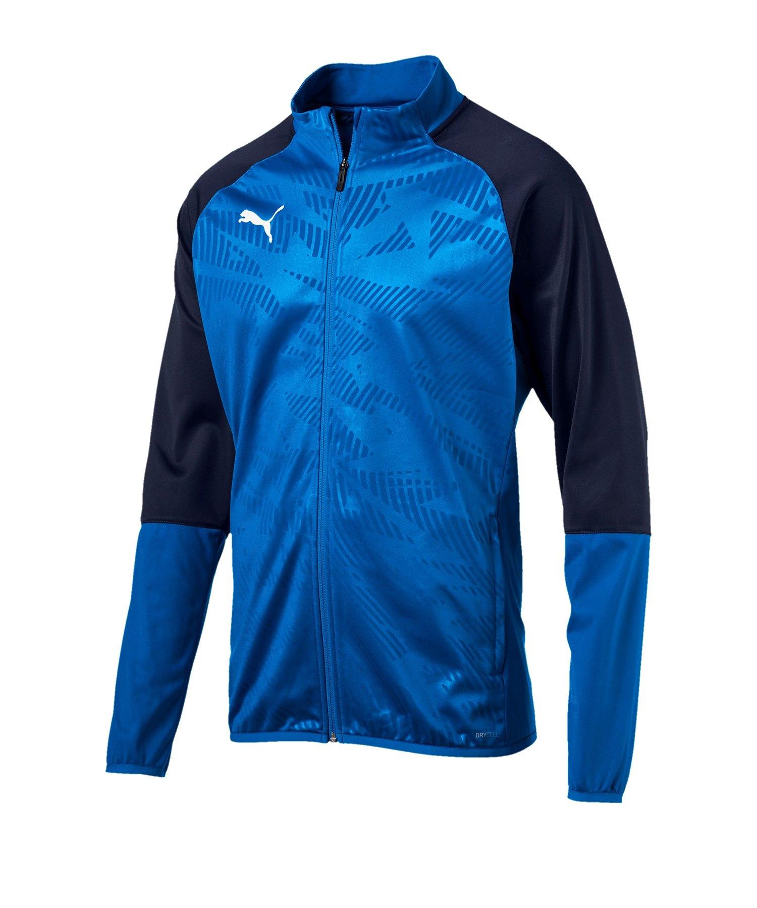 PUMA CUP Training Poly Jacket Core Blau F02 - blau
