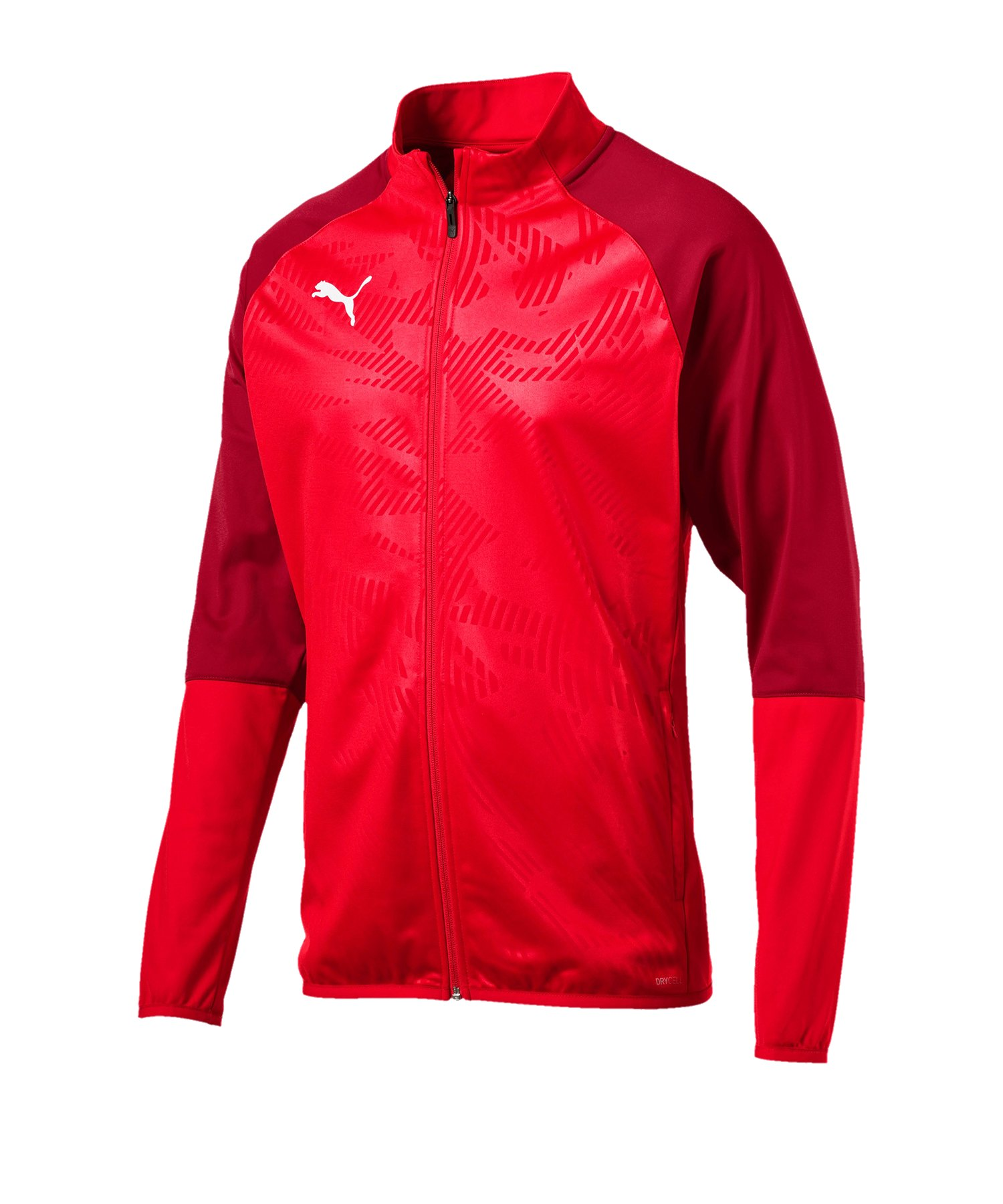 PUMA CUP Training Poly Jacket Core Rot F01 - rot
