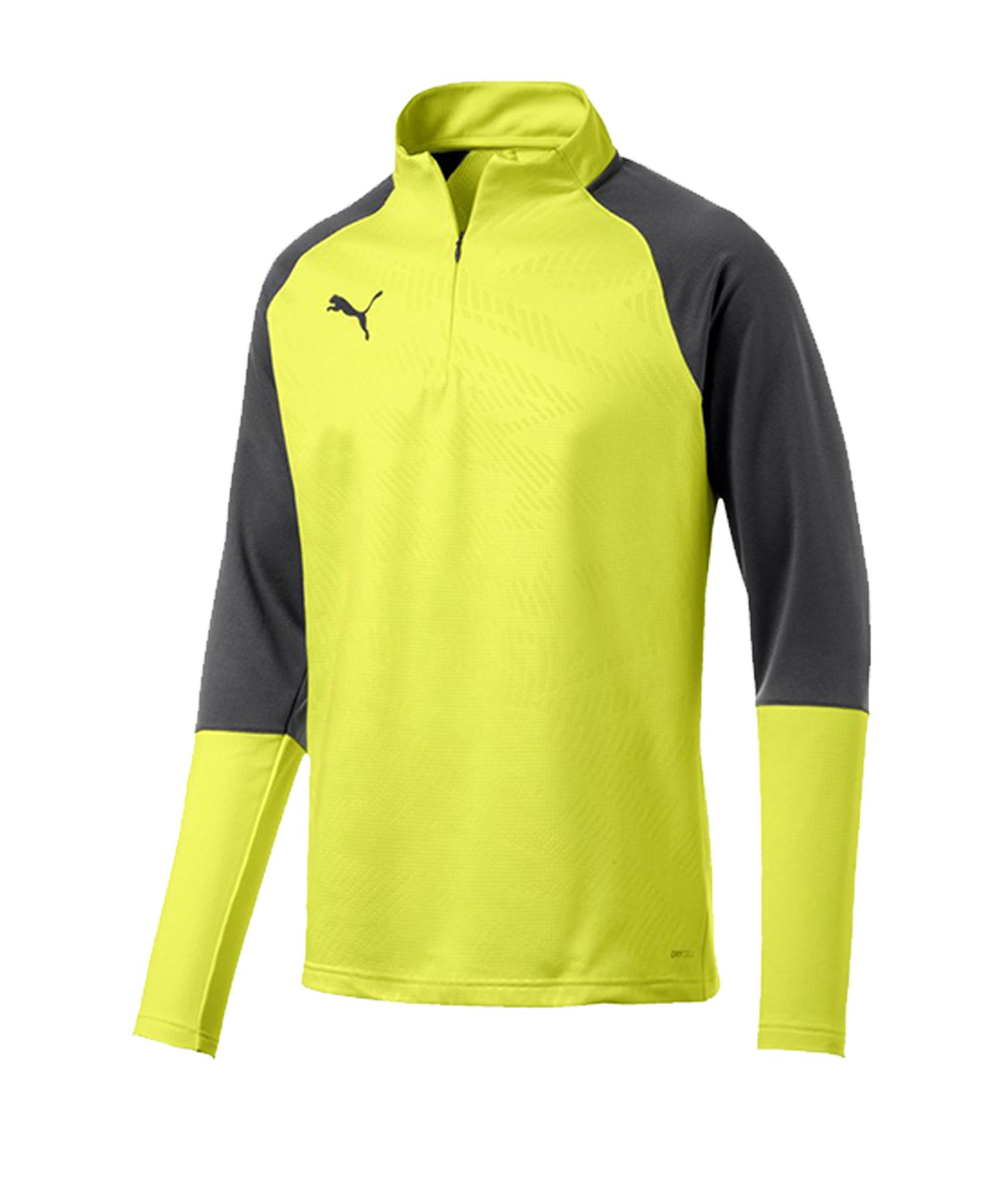 PUMA CUP Training Core 1/4 Zip Top Gelb F16 - gelb