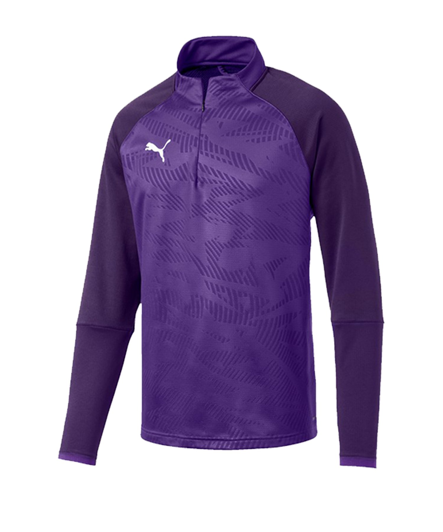 PUMA CUP Training Core 1/4 Zip Top Lila F10 - lila