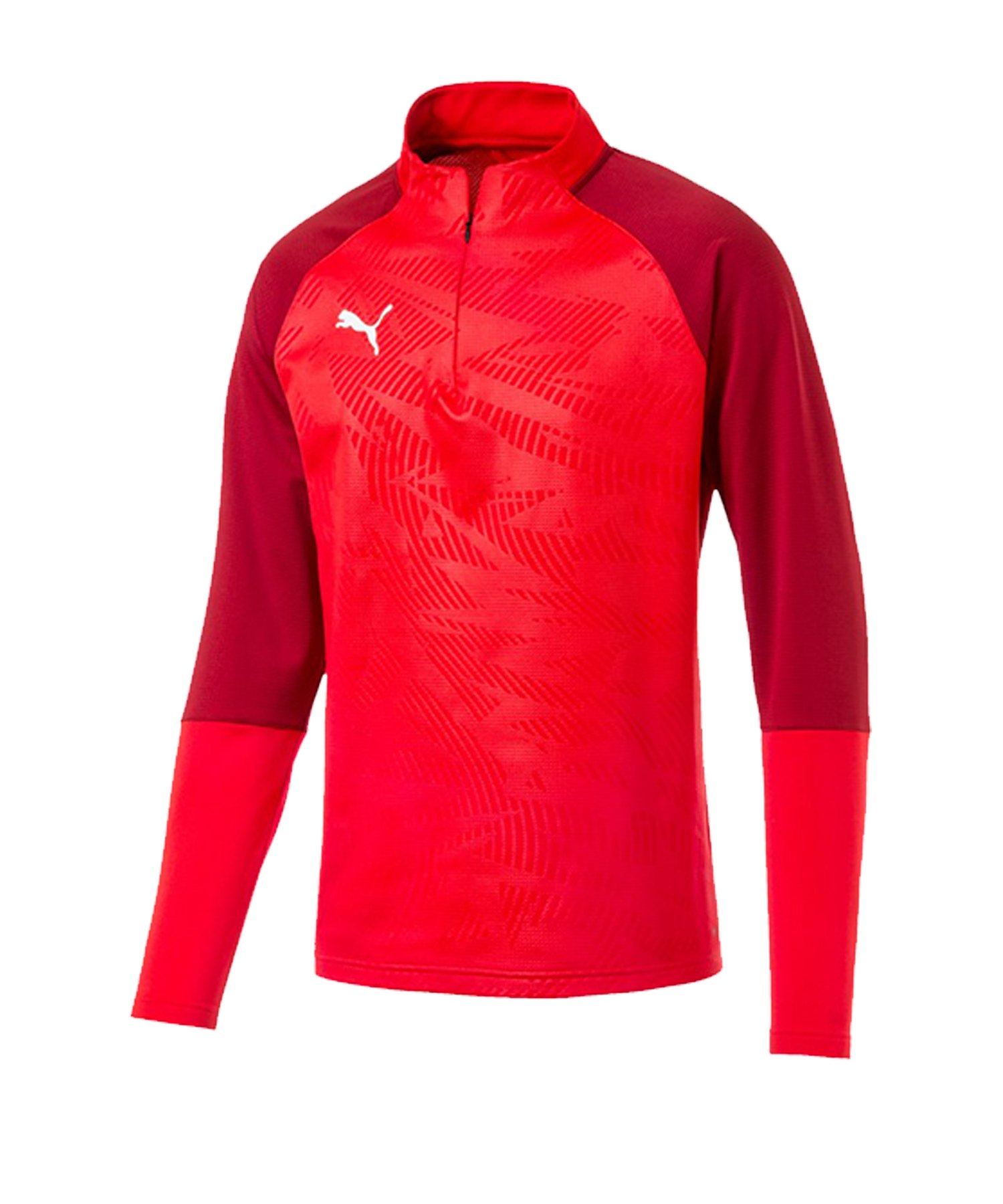 PUMA CUP Training Core 1/4 Zip Top Rot F01 - rot