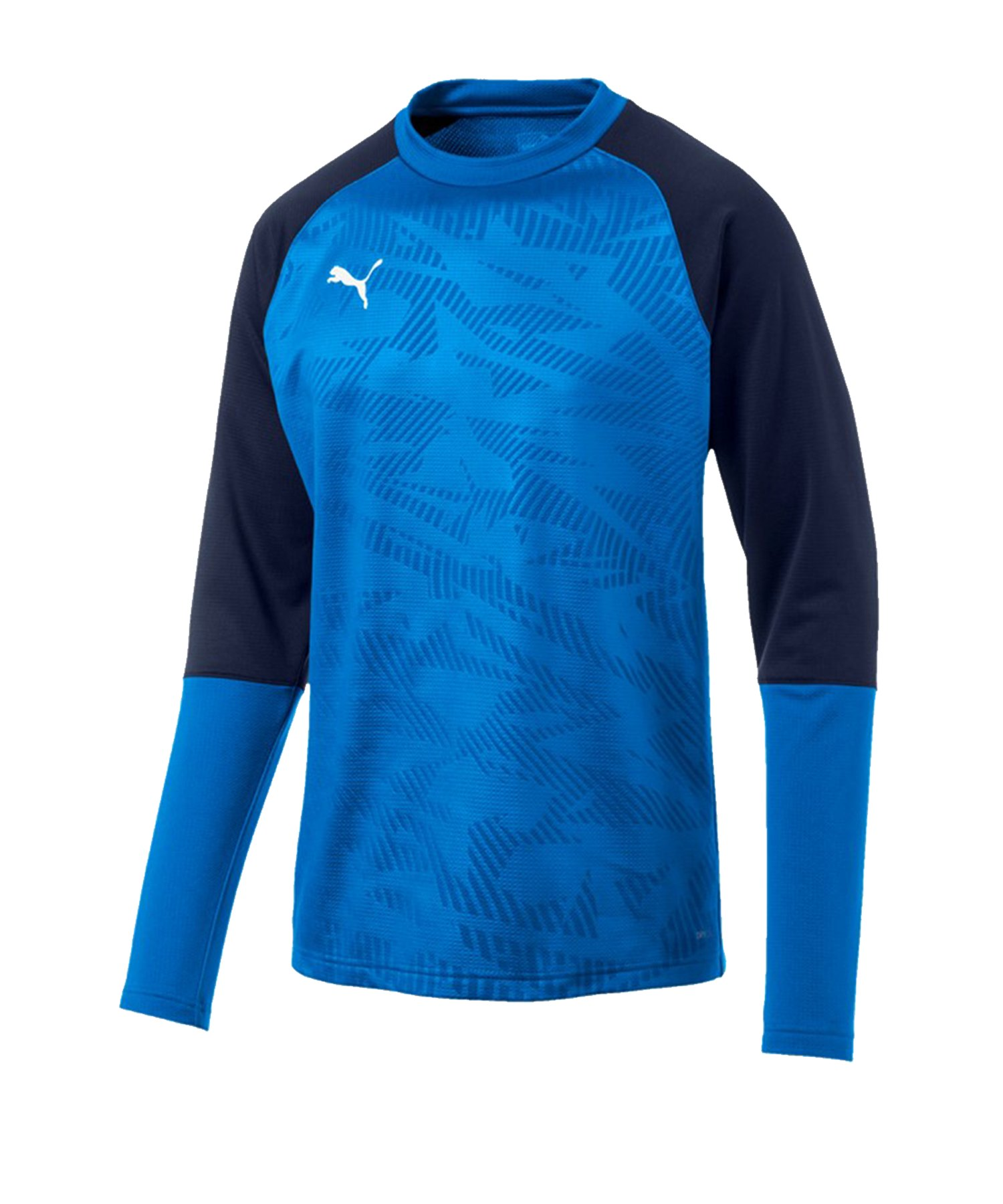 PUMA CUP Training Core Sweatshirt Blau F02 - blau