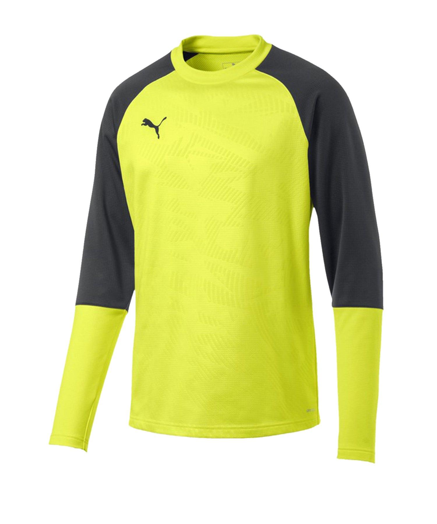 PUMA CUP Training Core Sweatshirt Gelb F16 - gelb