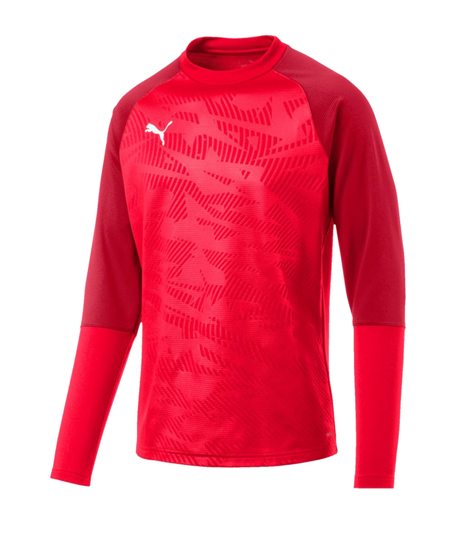 PUMA CUP Training Core Sweatshirt Rot F01 - rot
