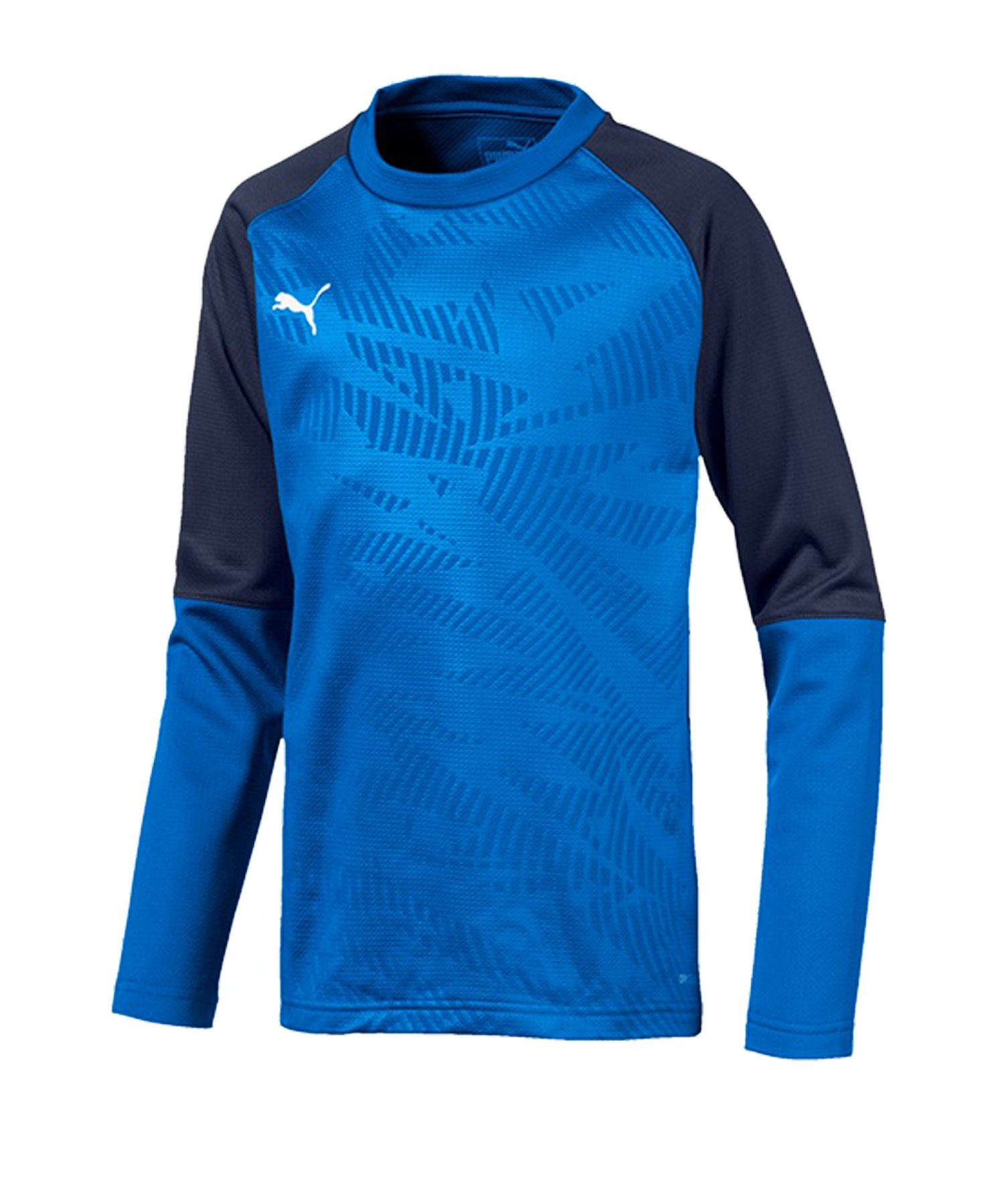 PUMA CUP Training Core Sweatshirt Kids Blau F02 - blau