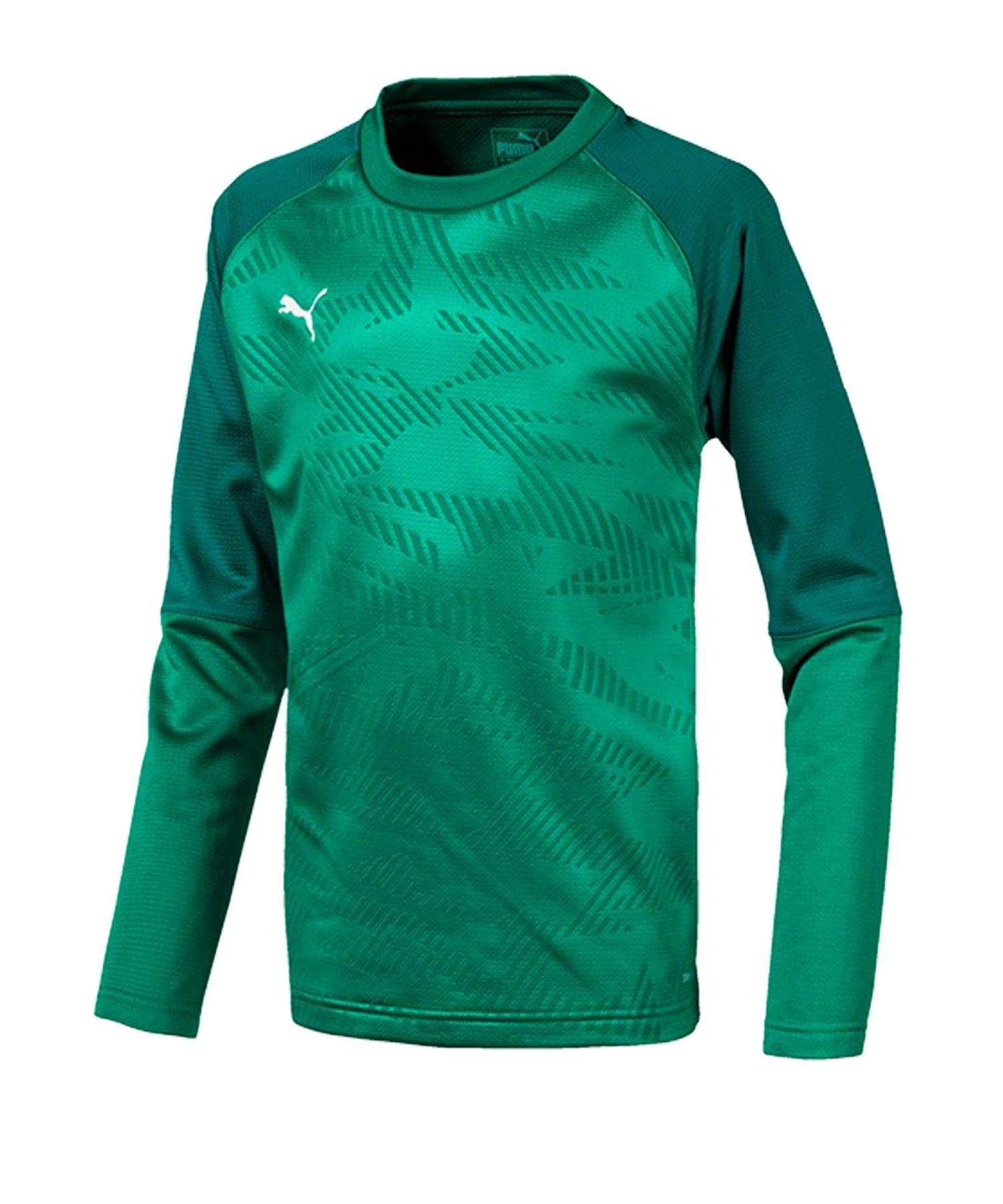 PUMA CUP Training Core Sweatshirt Kids Grün F05 - gruen
