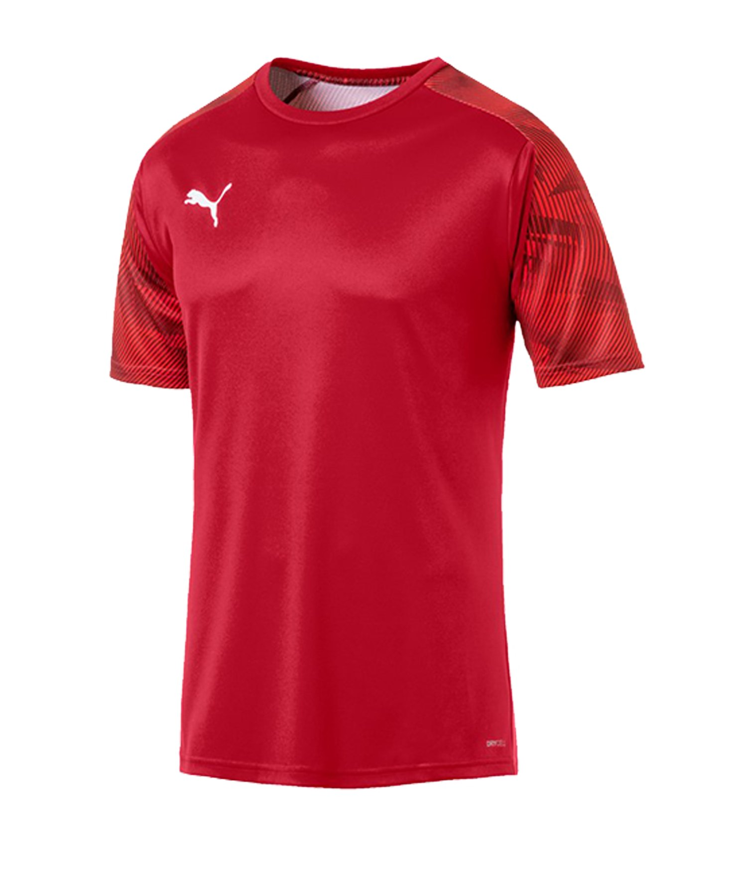 PUMA CUP Training T-Shirt Rot F01 - rot