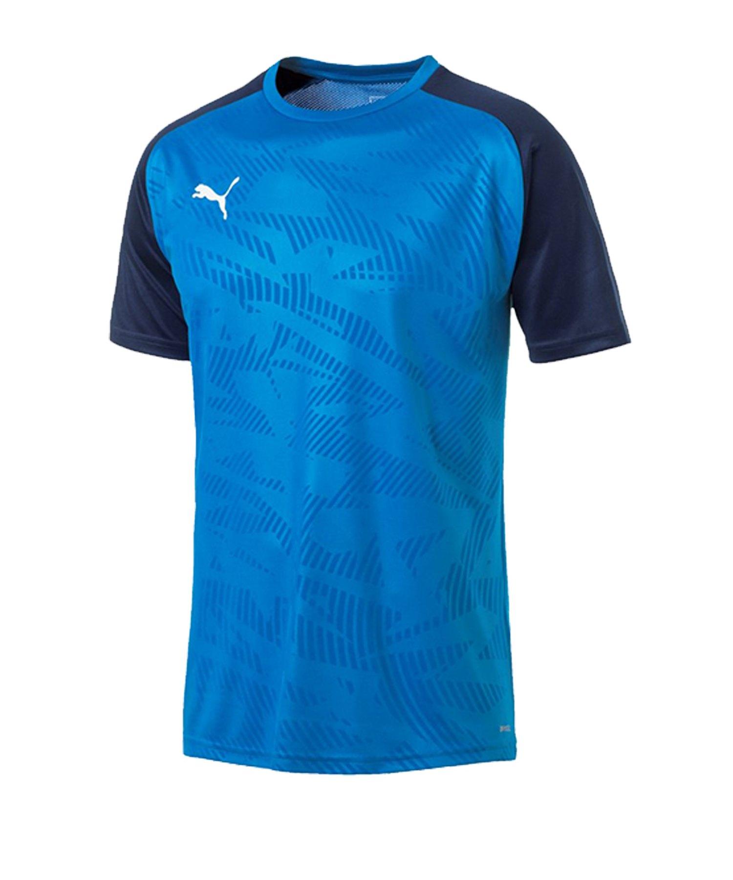PUMA CUP Training Core T-Shirt Blau F02 - blau