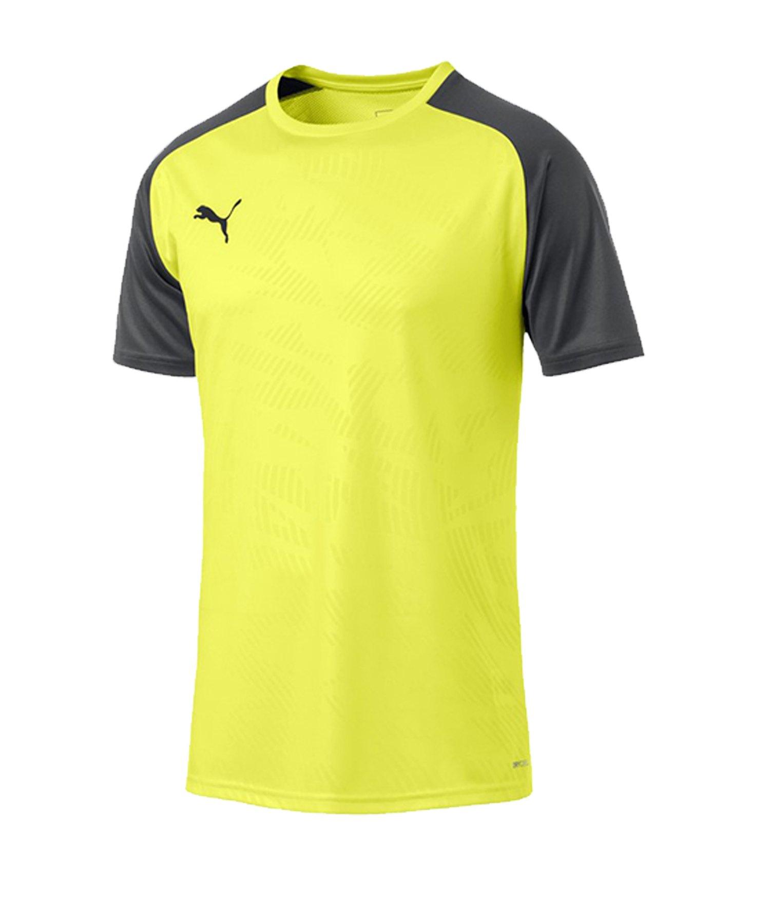 PUMA CUP Training Core T-Shirt Gelb F16 - gelb
