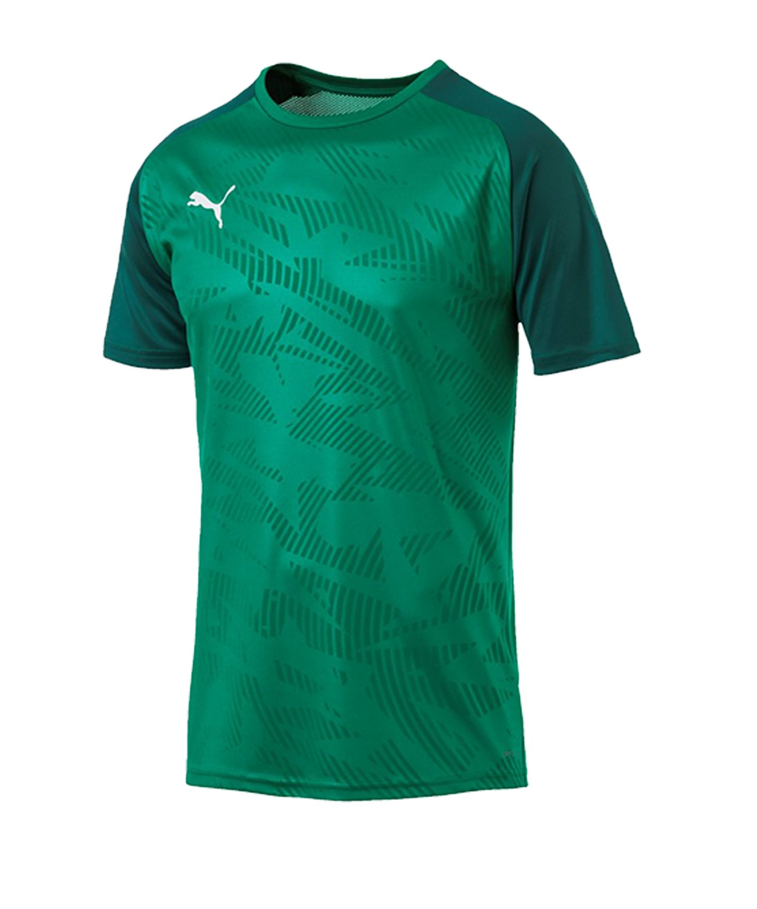 PUMA CUP Training Core T-Shirt Grün F05 - gruen