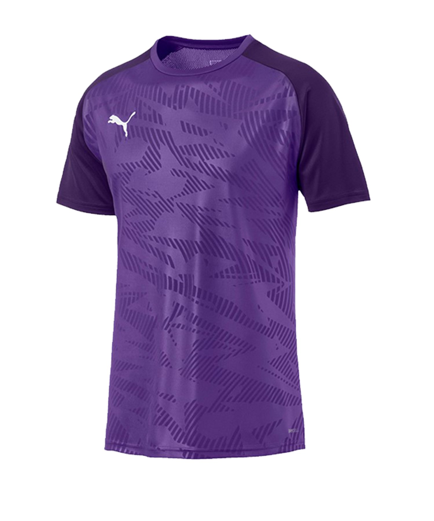 PUMA CUP Training Core T-Shirt Lila F10 - lila