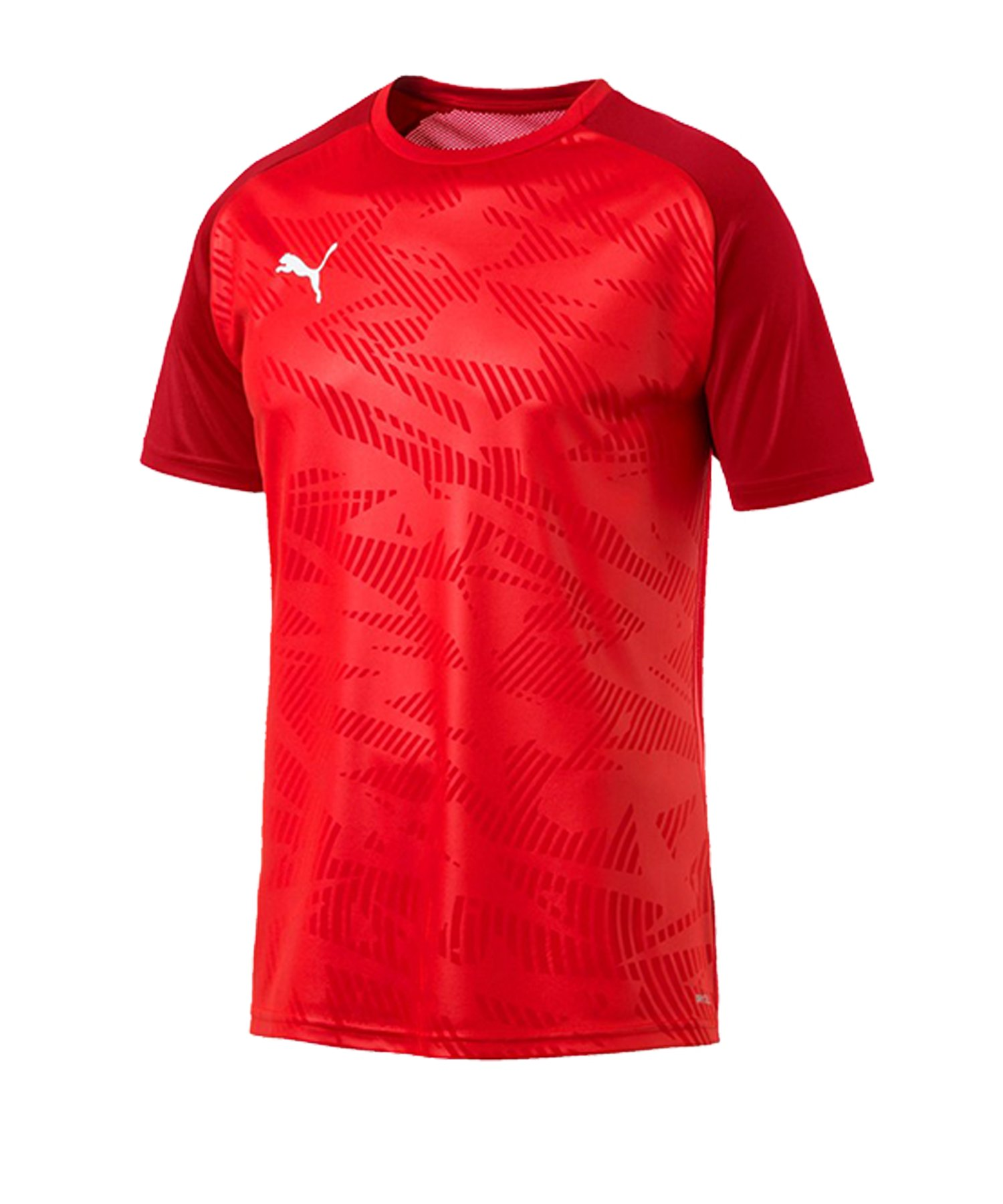 PUMA CUP Training Core T-Shirt Rot F01 - rot