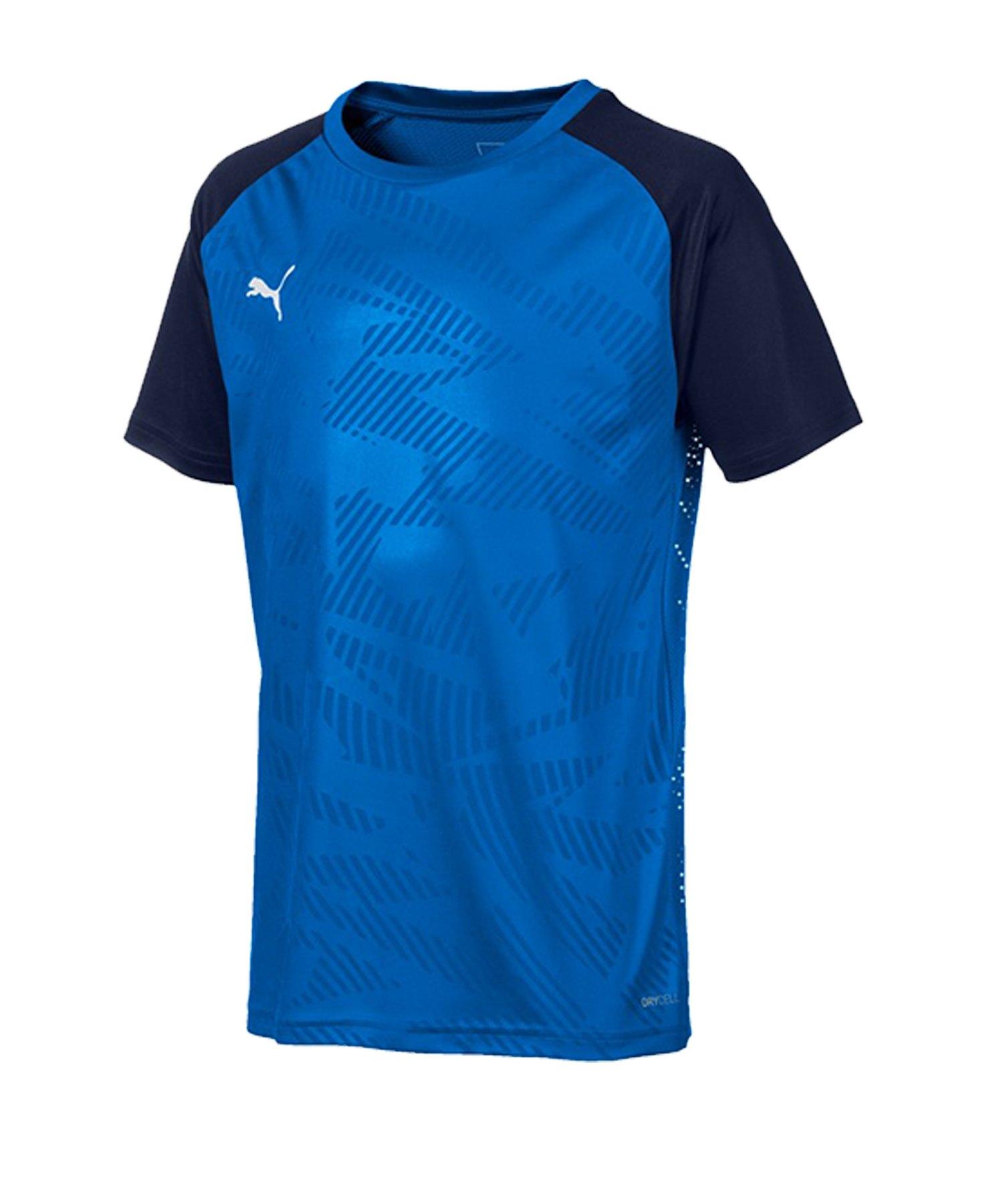 PUMA CUP Training Core T-Shirt Kids Blau F02 - blau