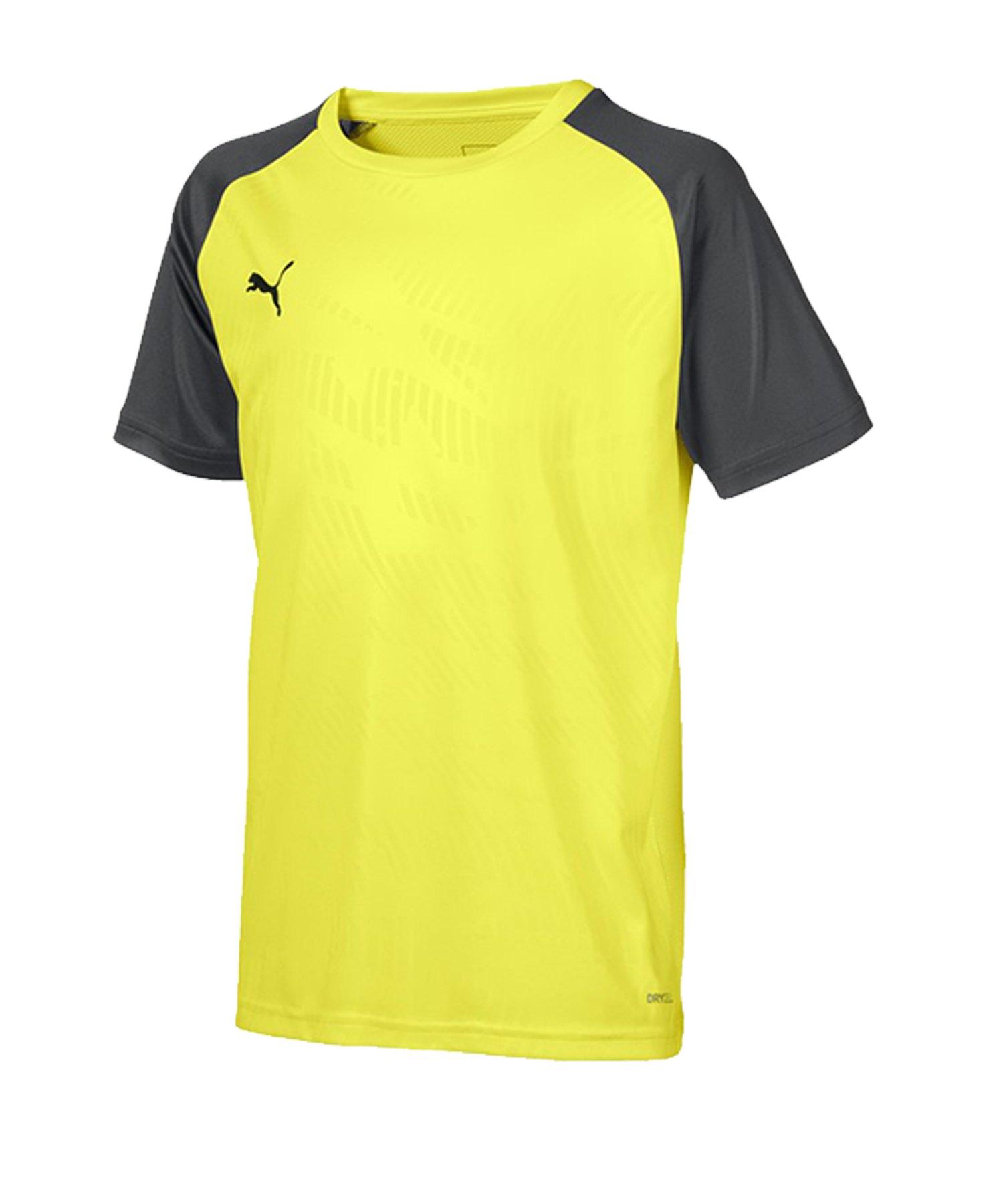 PUMA CUP Training Core T-Shirt Kids Gelb F16 - gelb