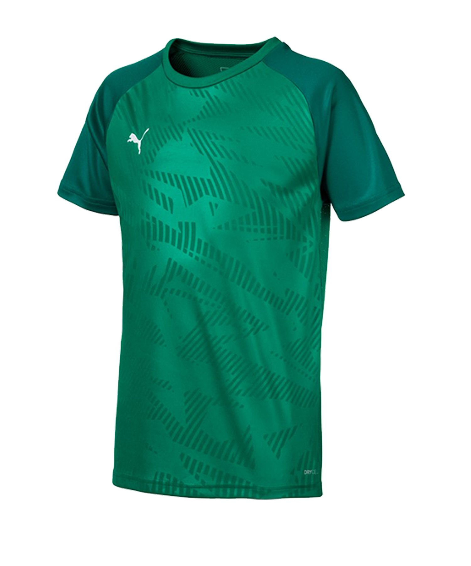 PUMA CUP Training Core T-Shirt Kids Grün F05 - gruen
