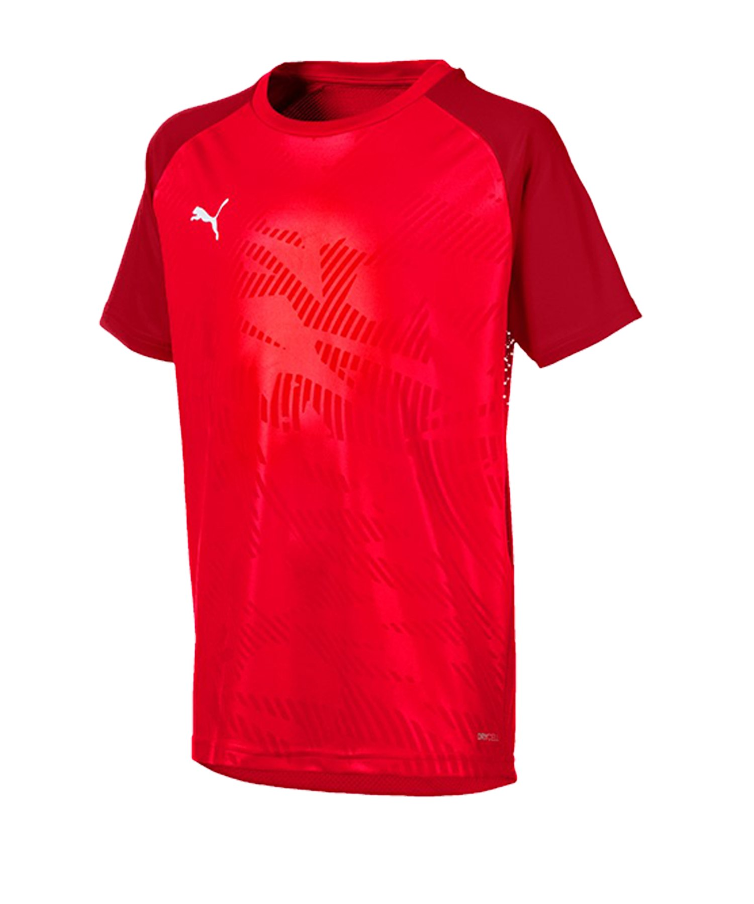 PUMA CUP Training Core T-Shirt Kids Rot F01 - rot