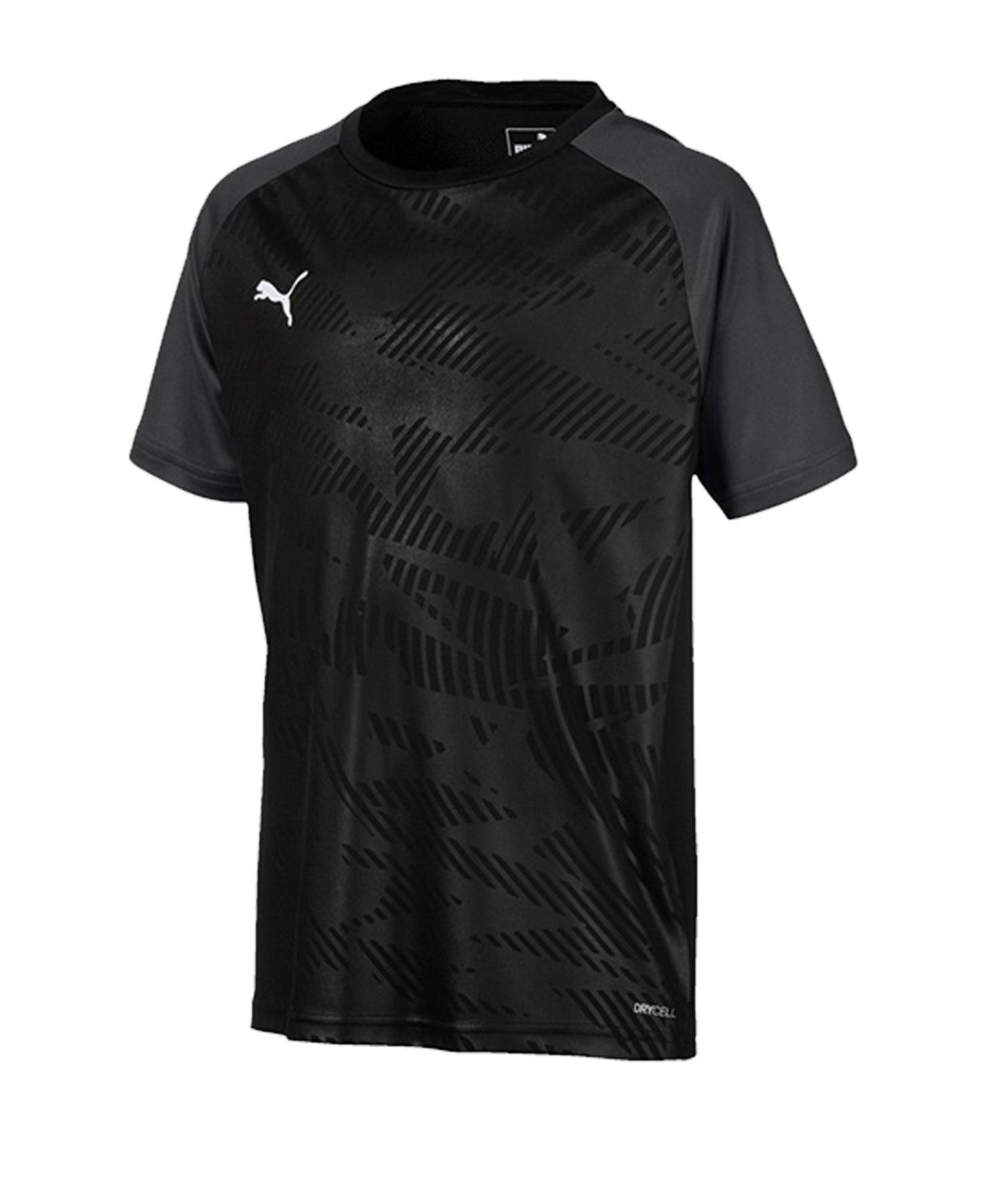 PUMA CUP Training Core T-Shirt Kids Schwarz F03 - schwarz
