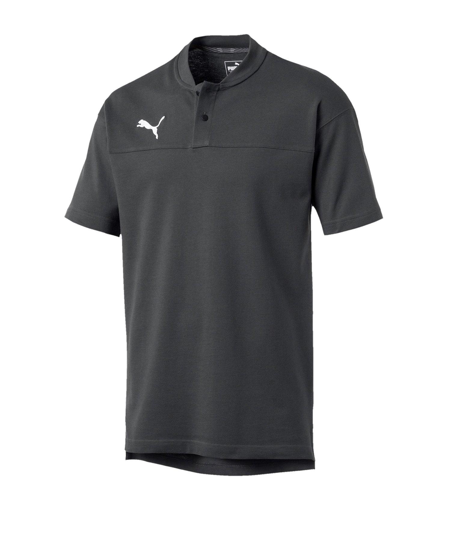 PUMA CUP Casual Poloshirt Grau F037 - grau