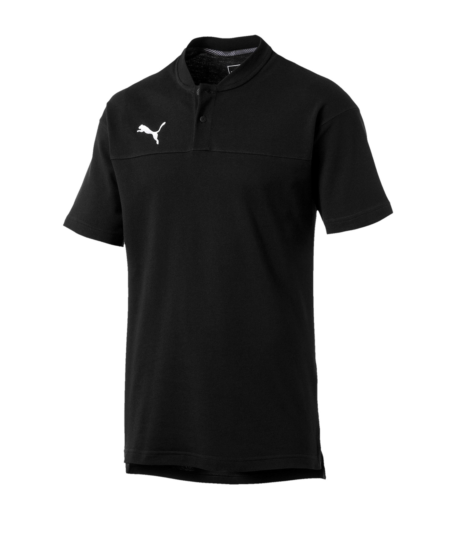 PUMA CUP Casual Poloshirt Schwarz F03 - schwarz