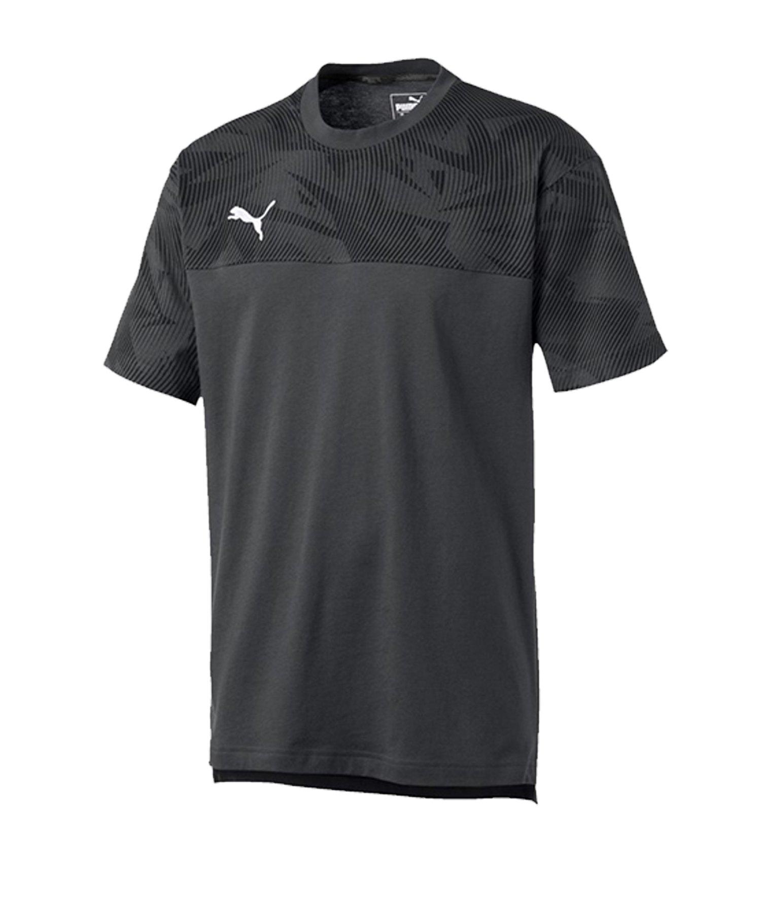 PUMA CUP Casuals Tee T-Shirt Grau F37 - grau