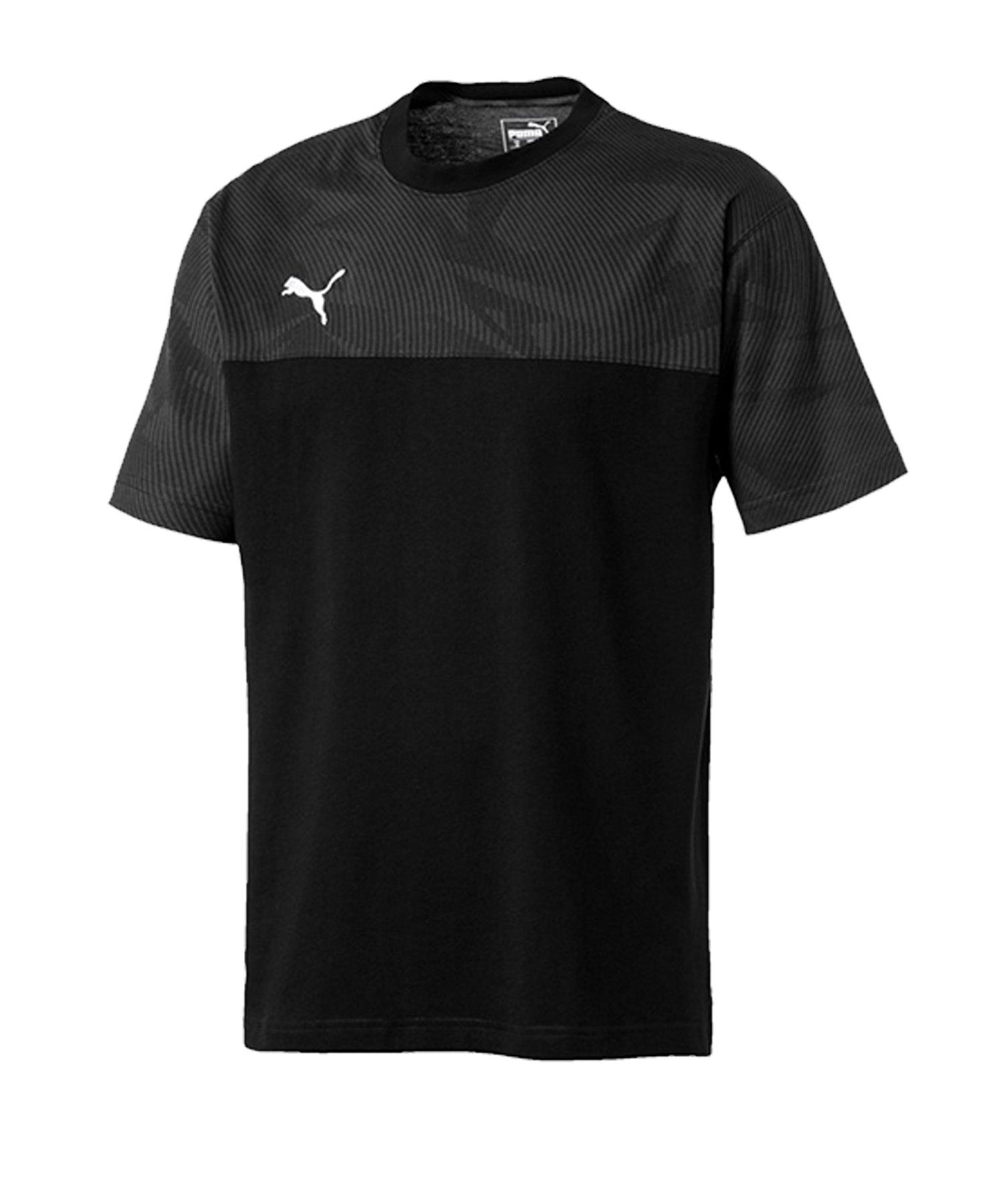 PUMA CUP Casuals Tee T-Shirt Schwarz F03 - schwarz