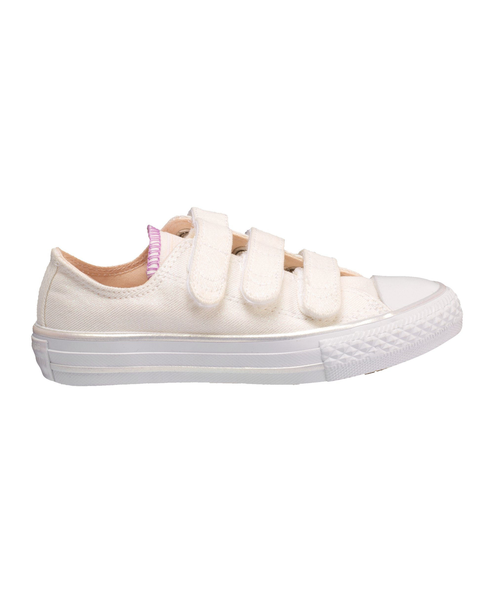 Converse Chuck Taylor AS 3V OX Sneaker Kids Beige - Beige