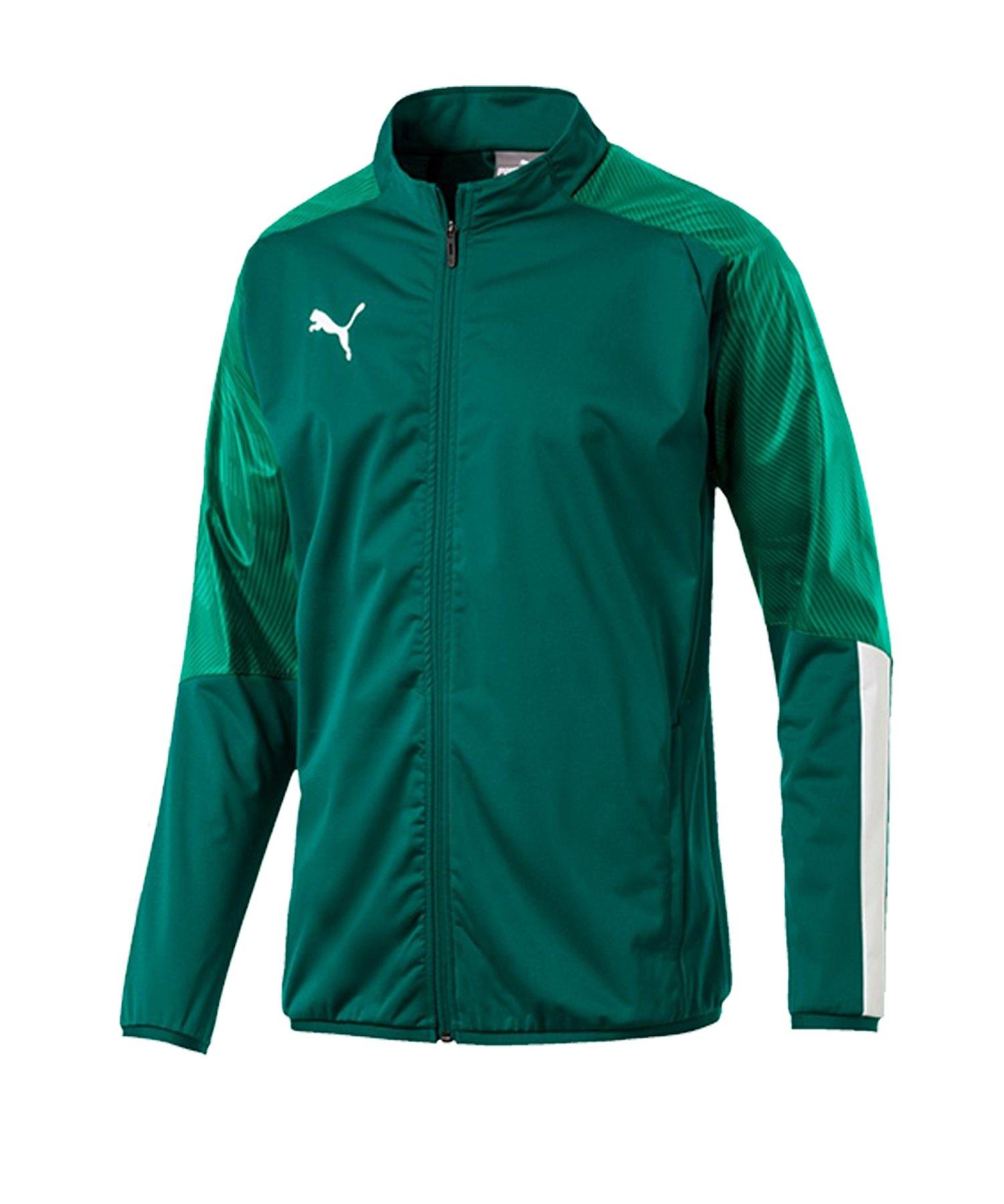 PUMA CUP Sideline Jacket Jacke Grün F05 - gruen