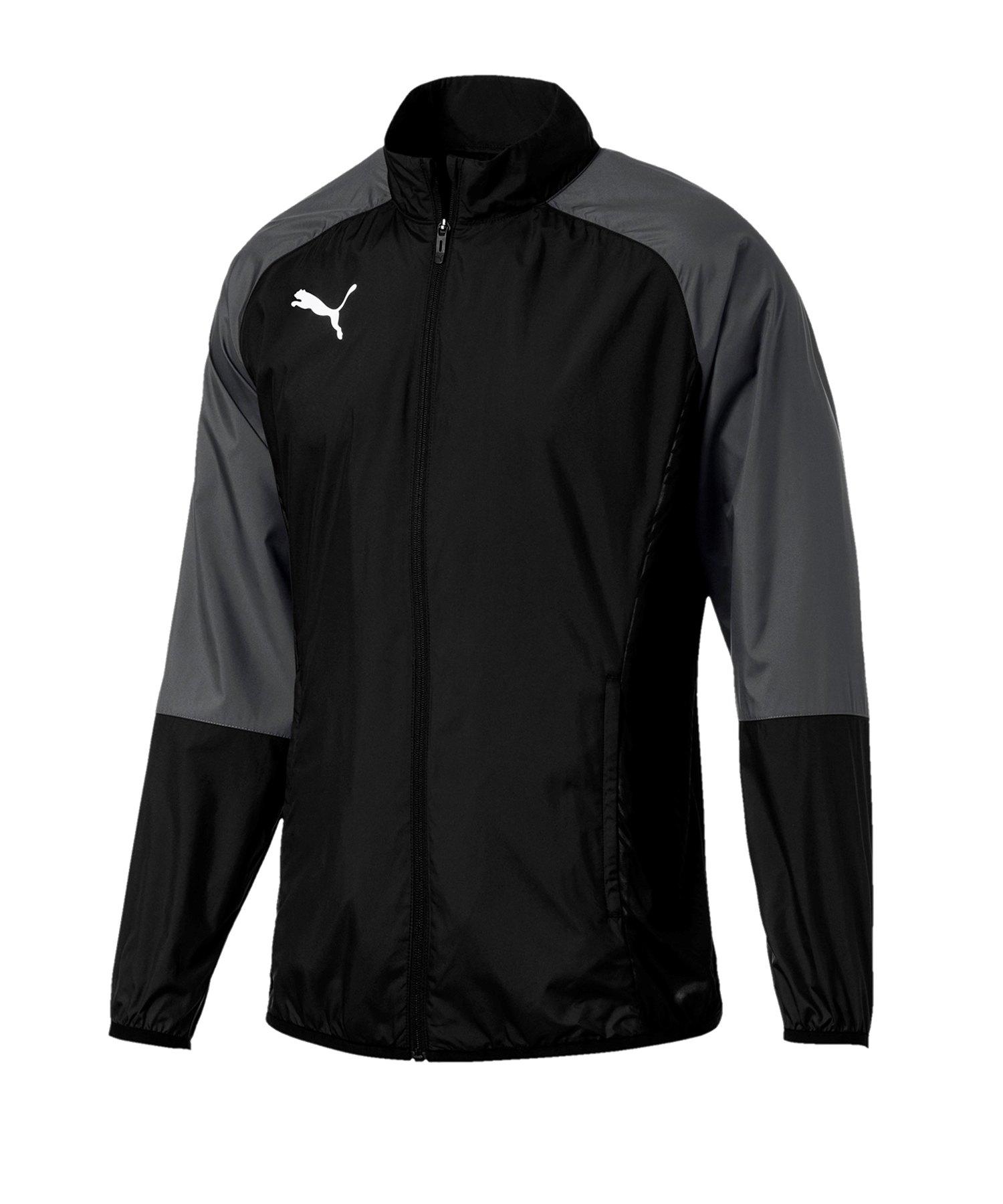 PUMA CUP Sideline Core Woven Jacket Schwarz F03 - schwarz