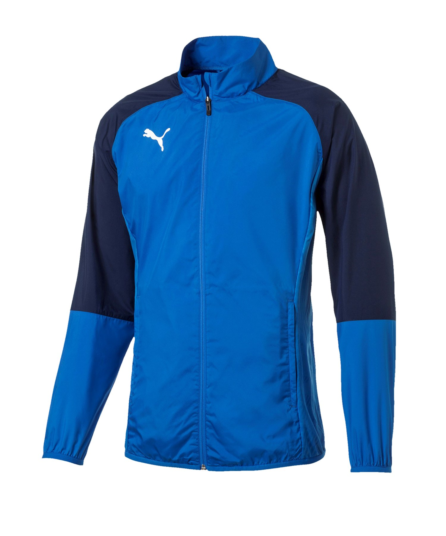 PUMA CUP Sideline Core Woven Jacket Kids Blau F02 - blau
