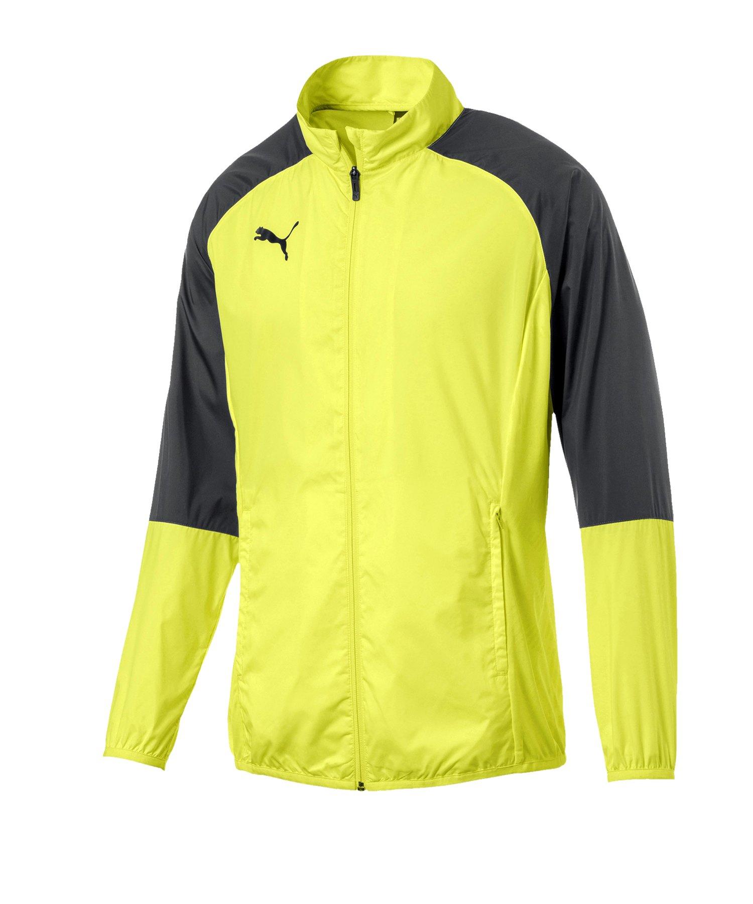 PUMA CUP Sideline Core Woven Jacket Kids Gelb F16 - gelb