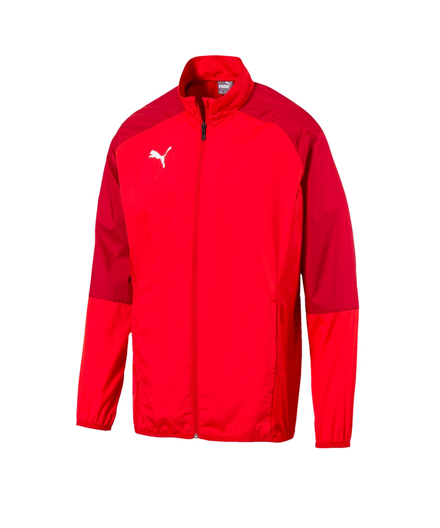 PUMA CUP Sideline Core Woven Jacket Kids Rot F01 - rot
