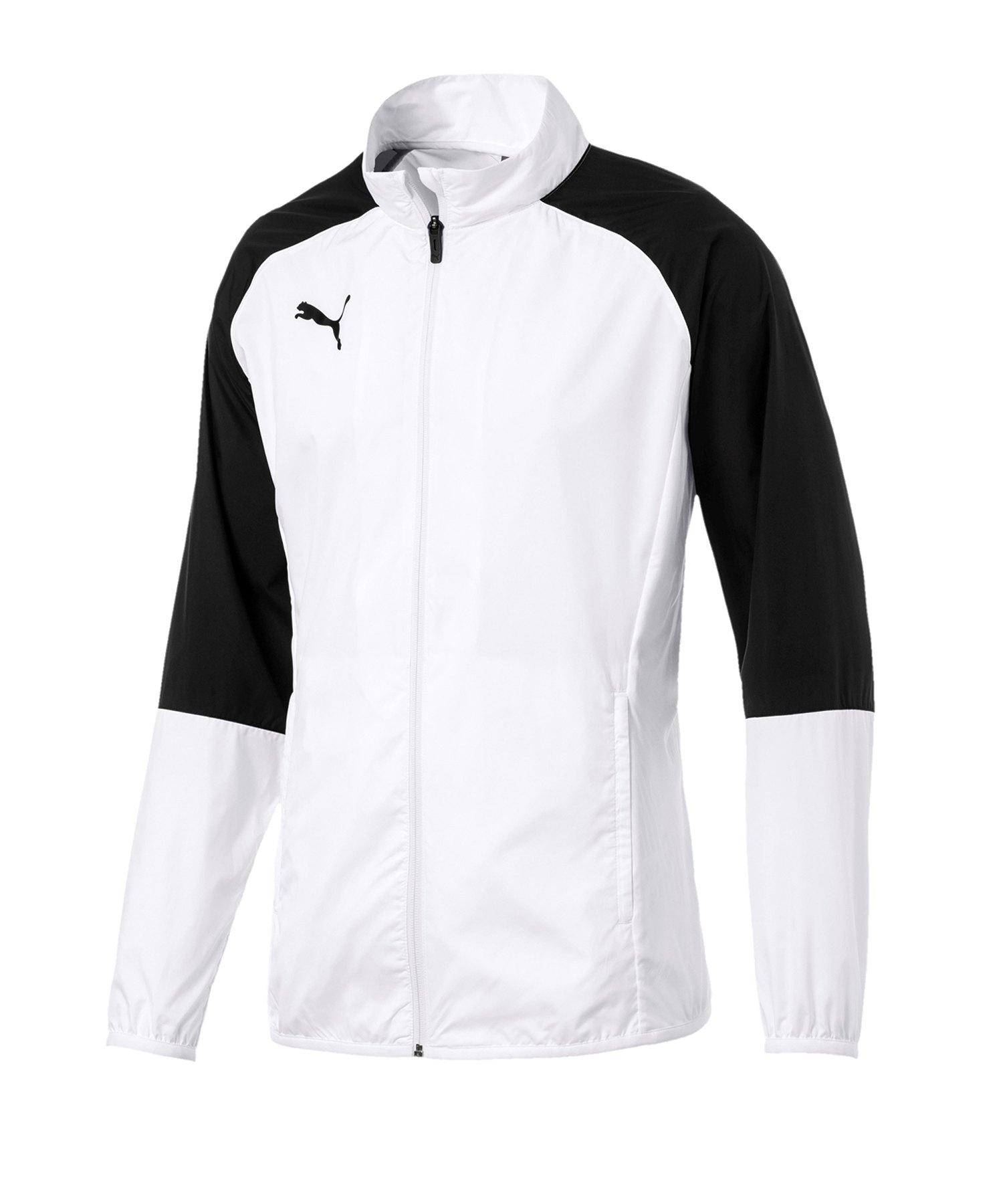 PUMA CUP Sideline Core Woven Jacket Kids Weiss F04 - weiss