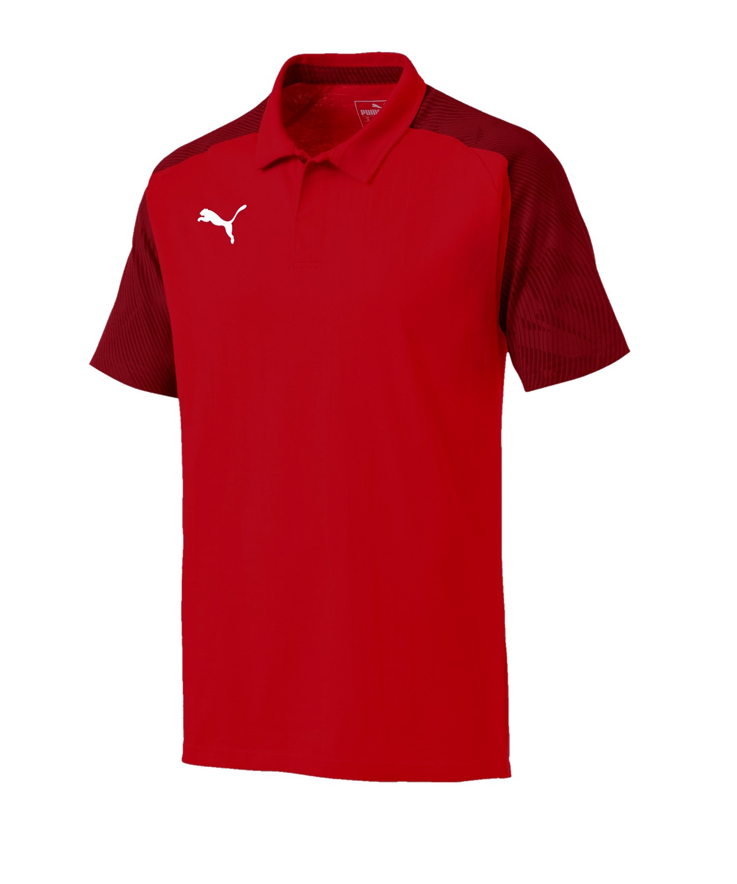 PUMA CUP Sideline Poloshirt Rot F01 - rot