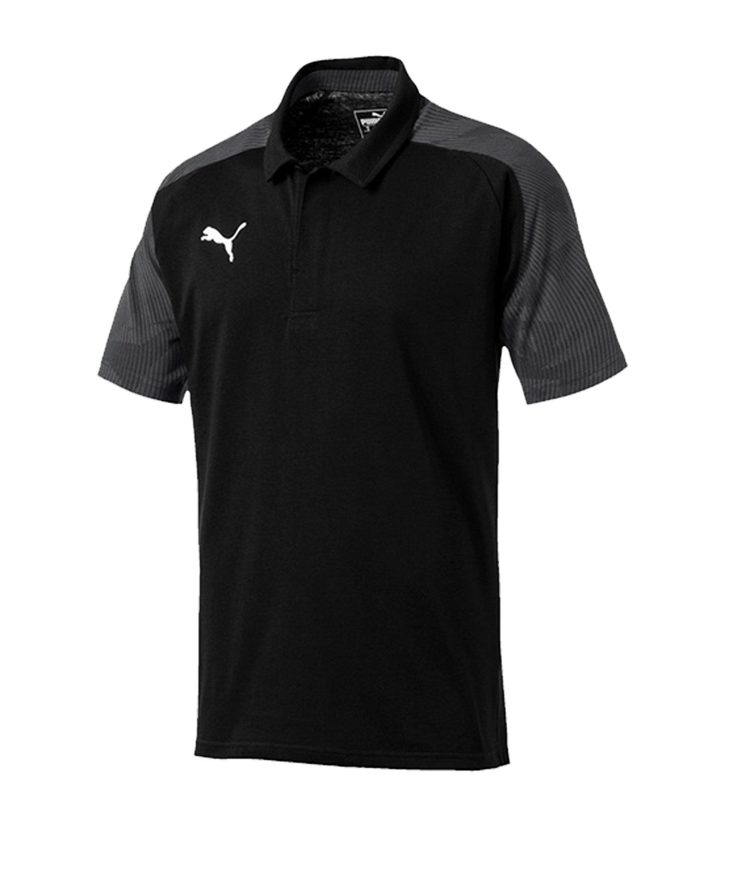 PUMA CUP Sideline Poloshirt Schwarz F03 - schwarz