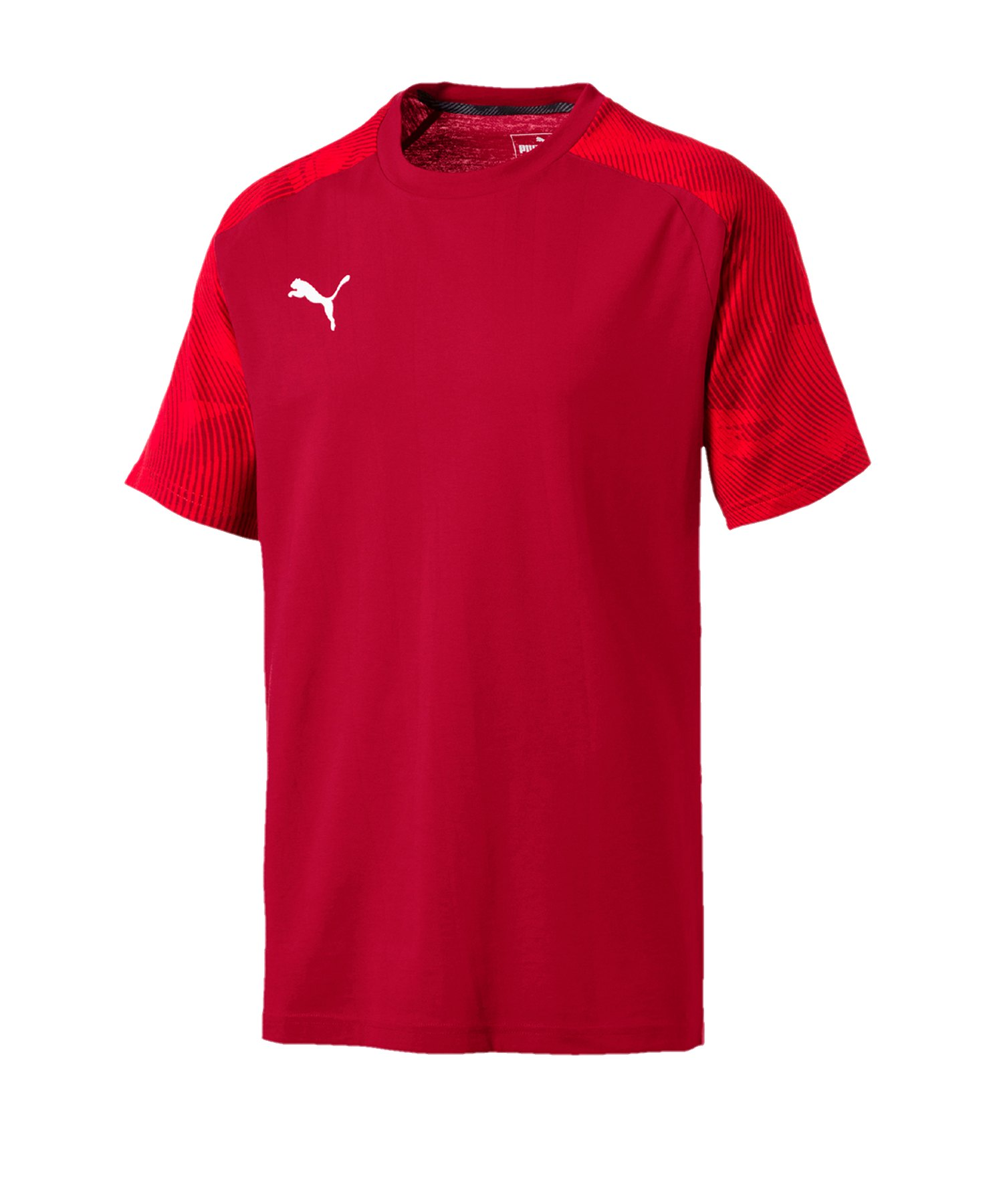 PUMA CUP Sideline T-Shirt Rot F01 - rot