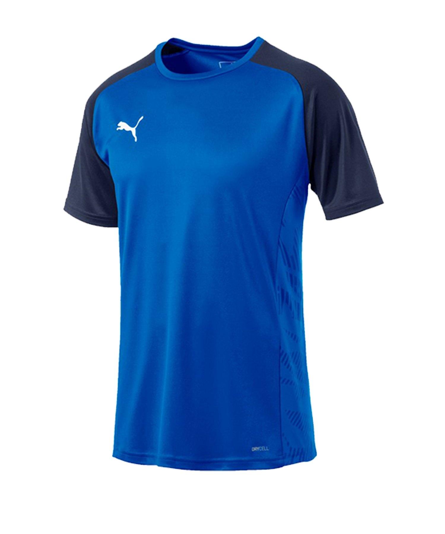 PUMA CUP Sideline Core T-Shirt Blau F02 - blau