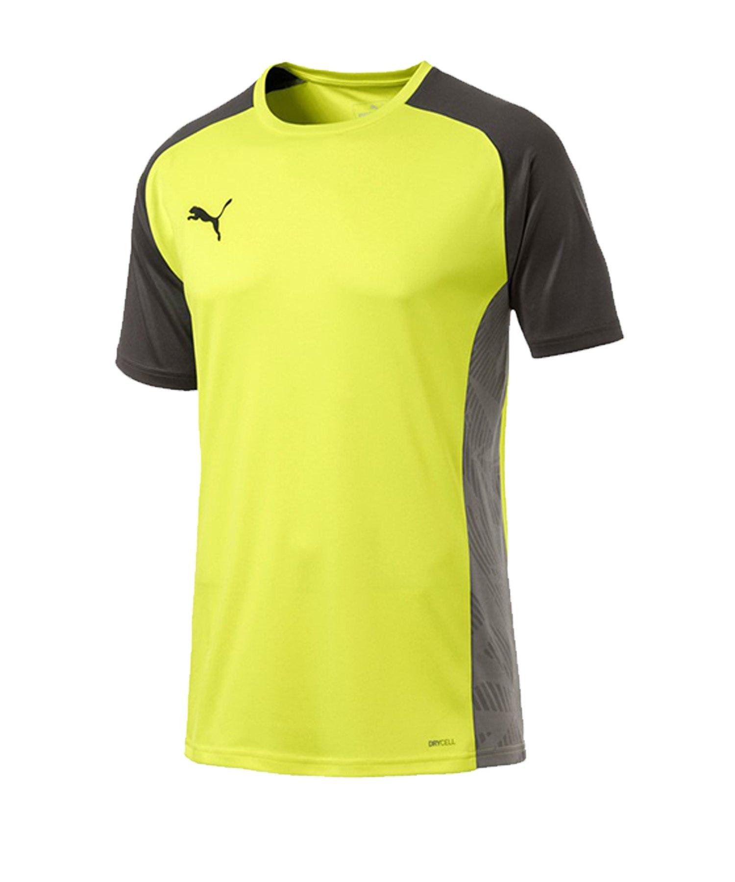 PUMA CUP Sideline Core T-Shirt Gelb F16 - gelb