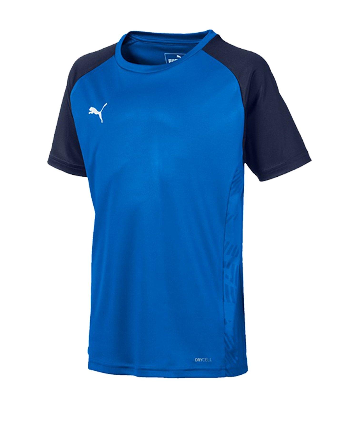 PUMA CUP Sideline Core T-Shirt Kids Blau F02 - blau