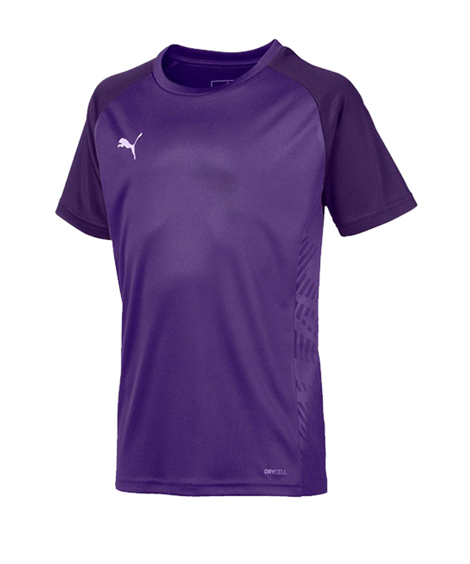 PUMA CUP Sideline Core T-Shirt Kids Lila F10 - lila