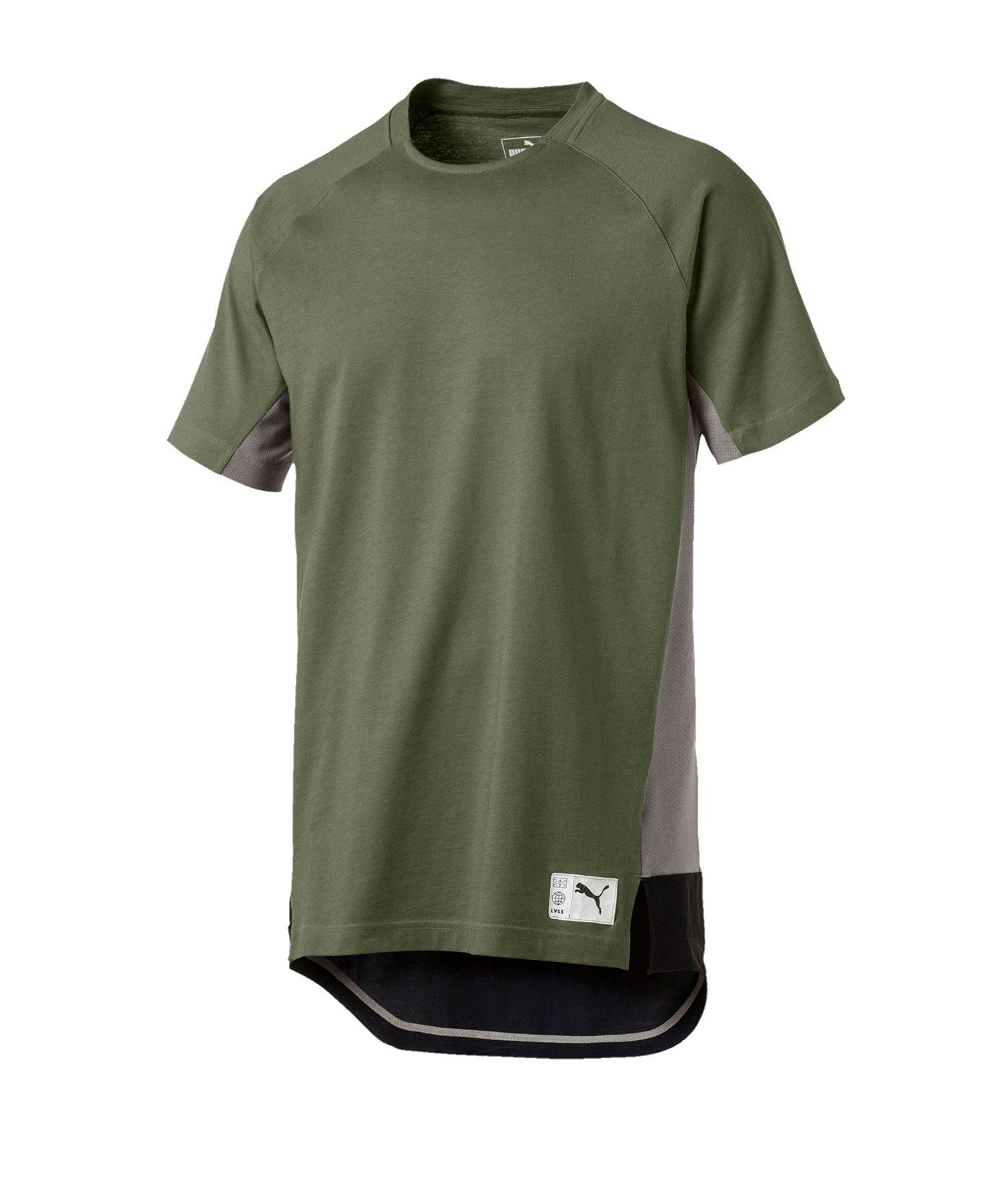 PUMA ftblNXT Casuals Graphic T-Shirt Khaki F03 - khaki