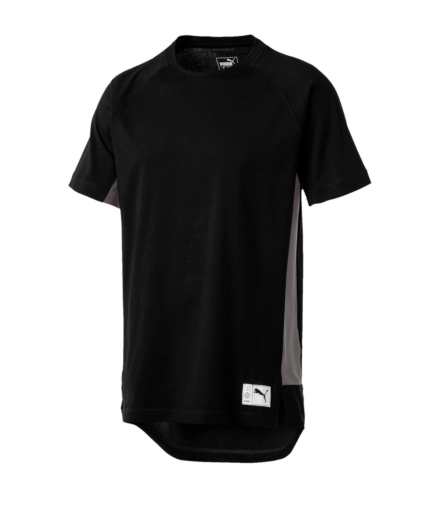 PUMA ftblNXT Casuals Graphic T-Shirt Schwarz F01 - schwarz
