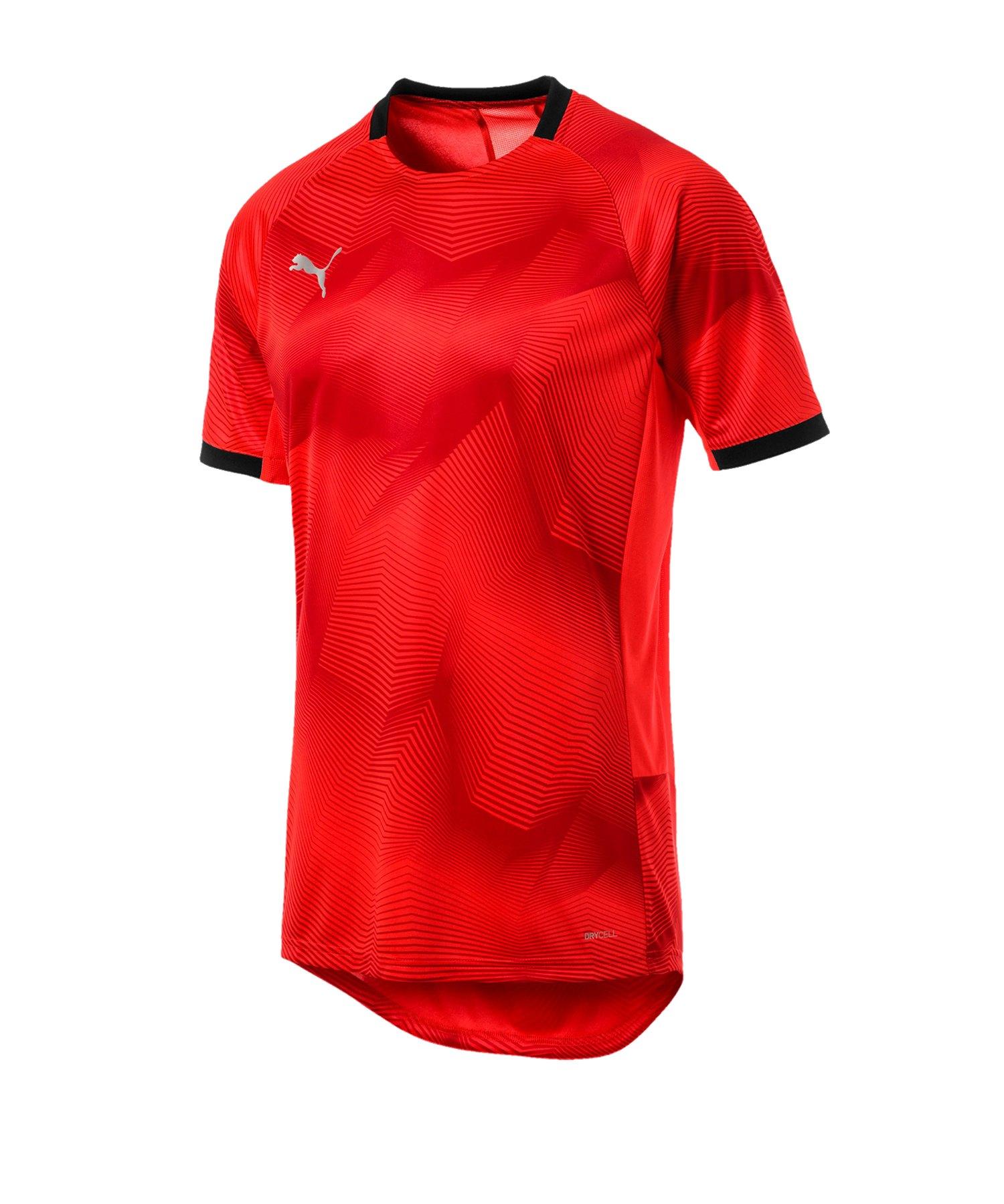 PUMA ftblNXT Graphic T-Shirt Rot Schwarz F04 - rot